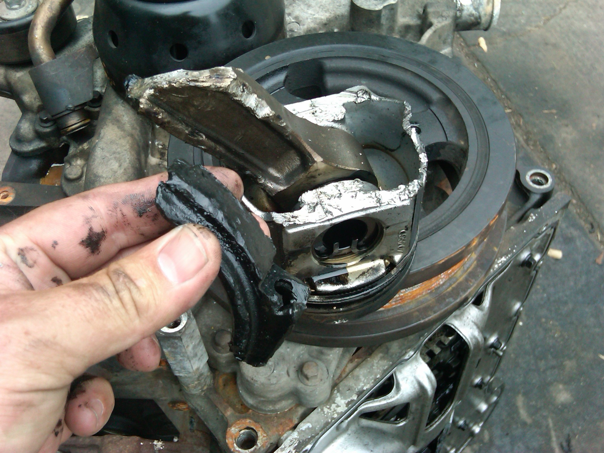 Let just ANYONE work on your 2003.5 thru 2015 Ford Super Duty and this may  be the result…