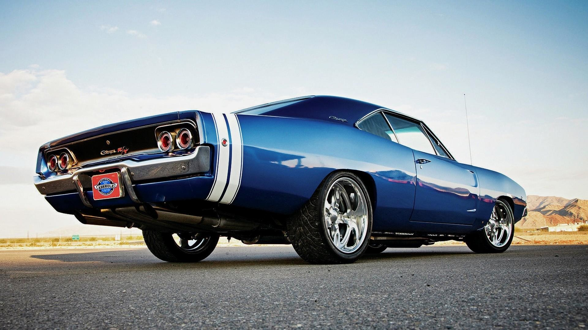 wallpaper.wiki-Blue-1970-Dodge-Charger-Background-Free-