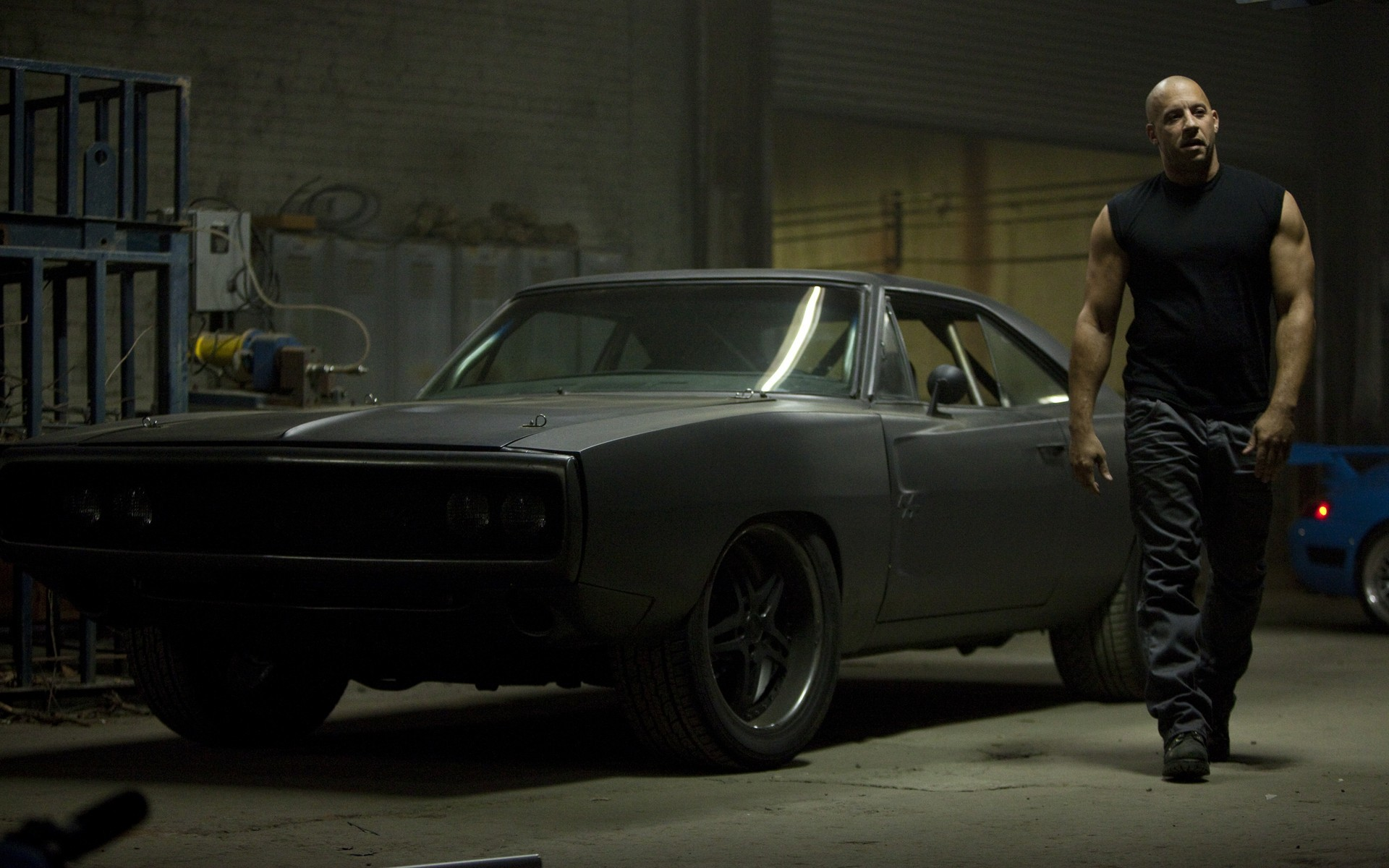 movies cars Dodge actors Vin Diesel Fast and Furious Dodge Charger R/T 1970  / Wallpaper