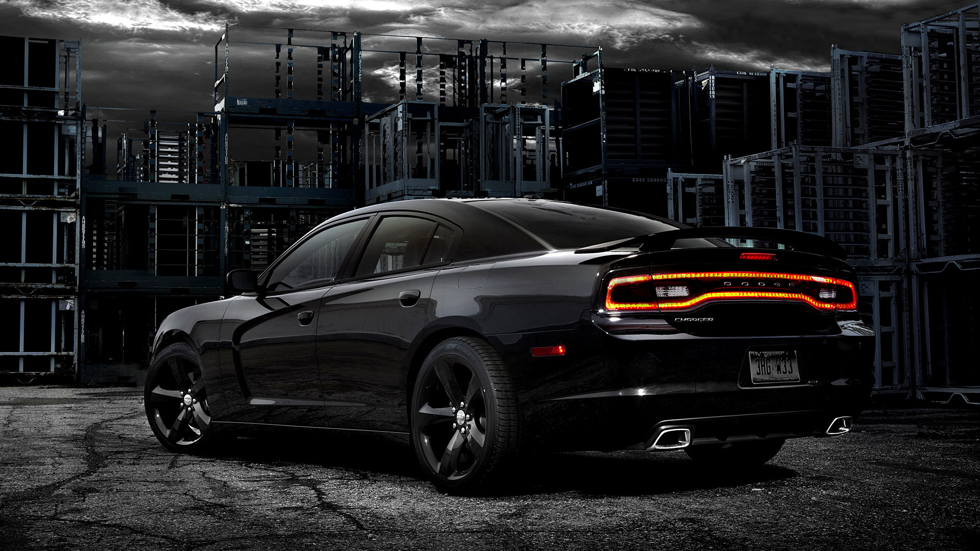 2012 Dodge Charger Blacktop picture