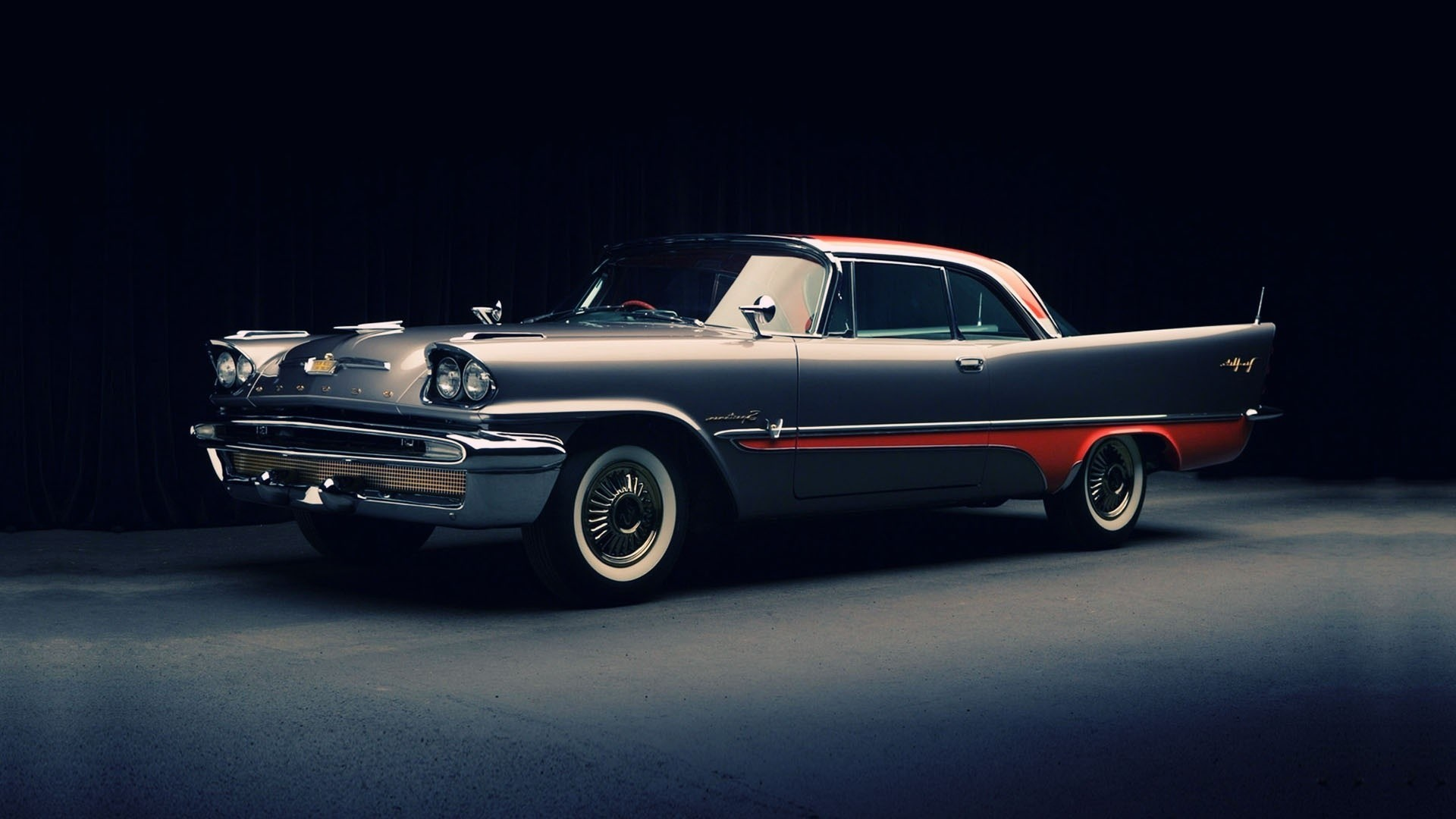 Download Classic Car DeSoto wallpaper in Transportation wallpapers .