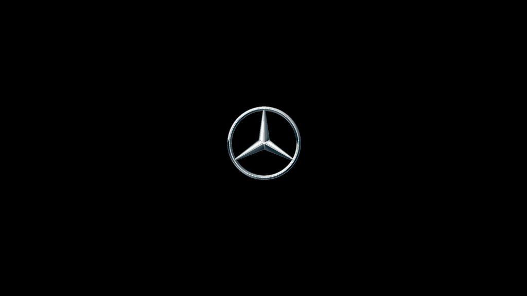 Mercedes Benz Logo Full HD Wallpaper 1920×1080