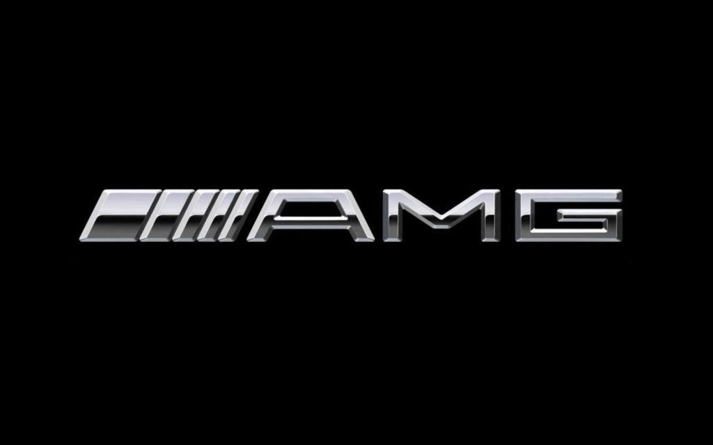 2014 Mercedes-Benz AMG Logo Wallpaper