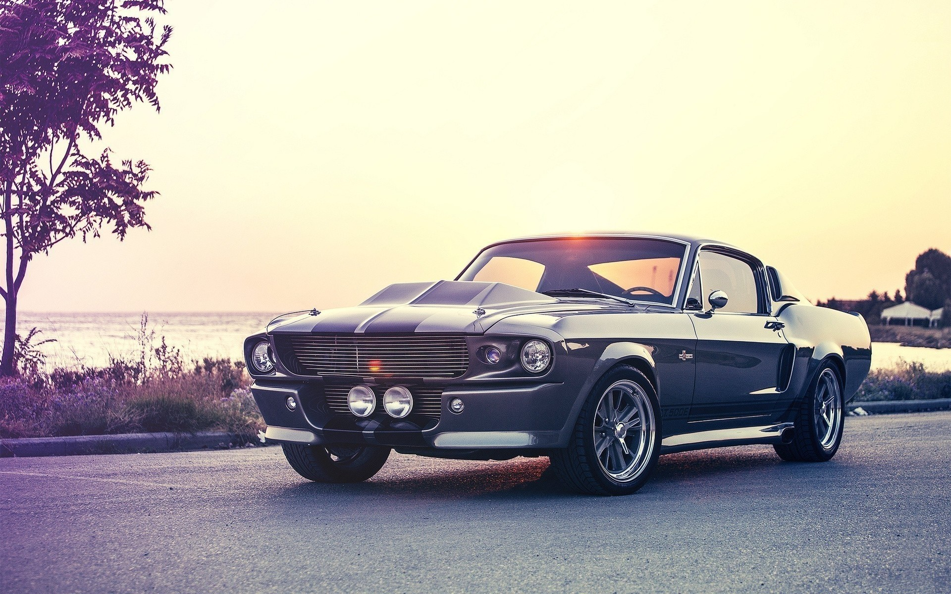 1967 Ford Mustang Shelby Cobra GT500 Eleanor Wallpaper.