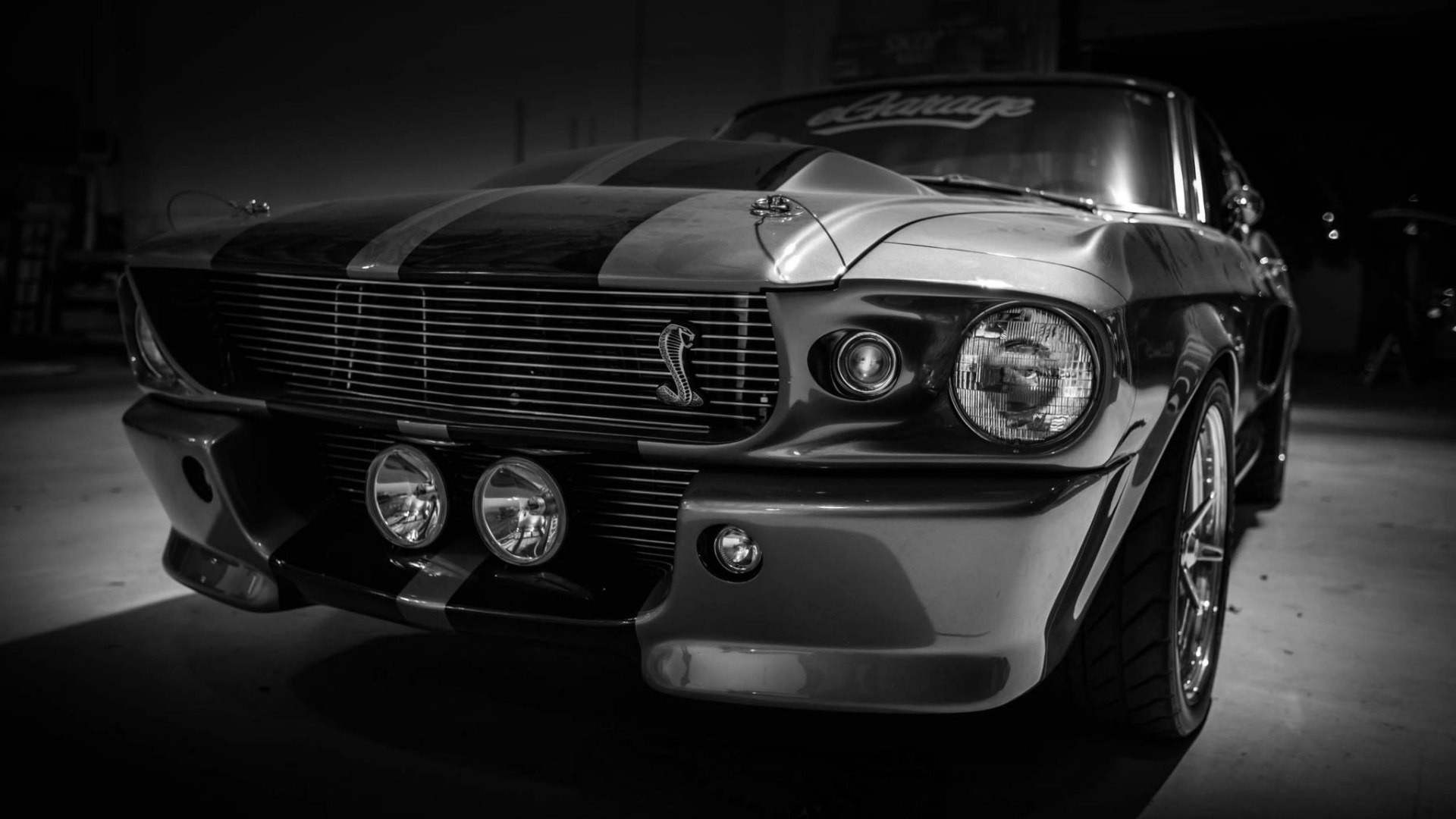 Wallpaper Shelby, Gt500, Eleanor, Ford mustang