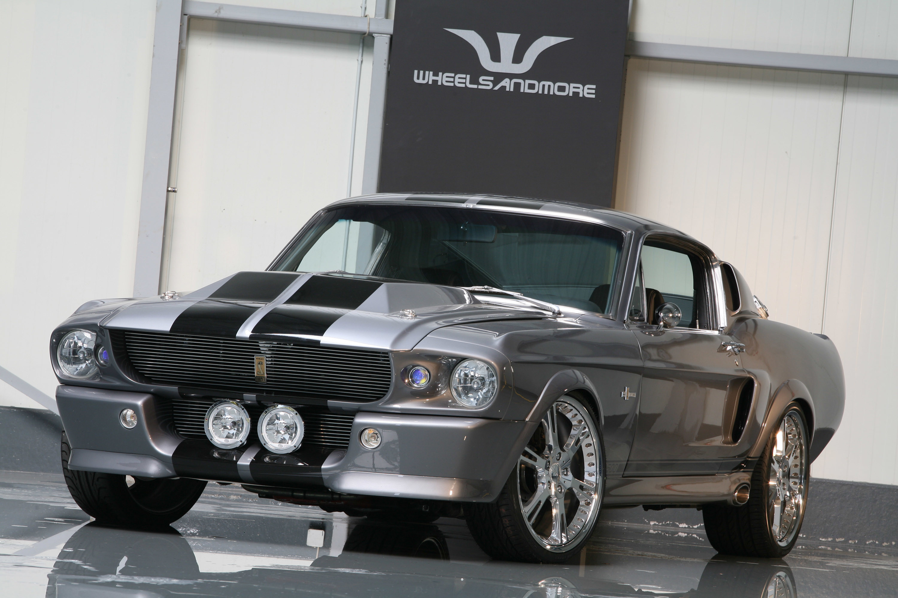 Wheelsandmore Mustang Shelby GT500 – ELEANOR wallpaper
