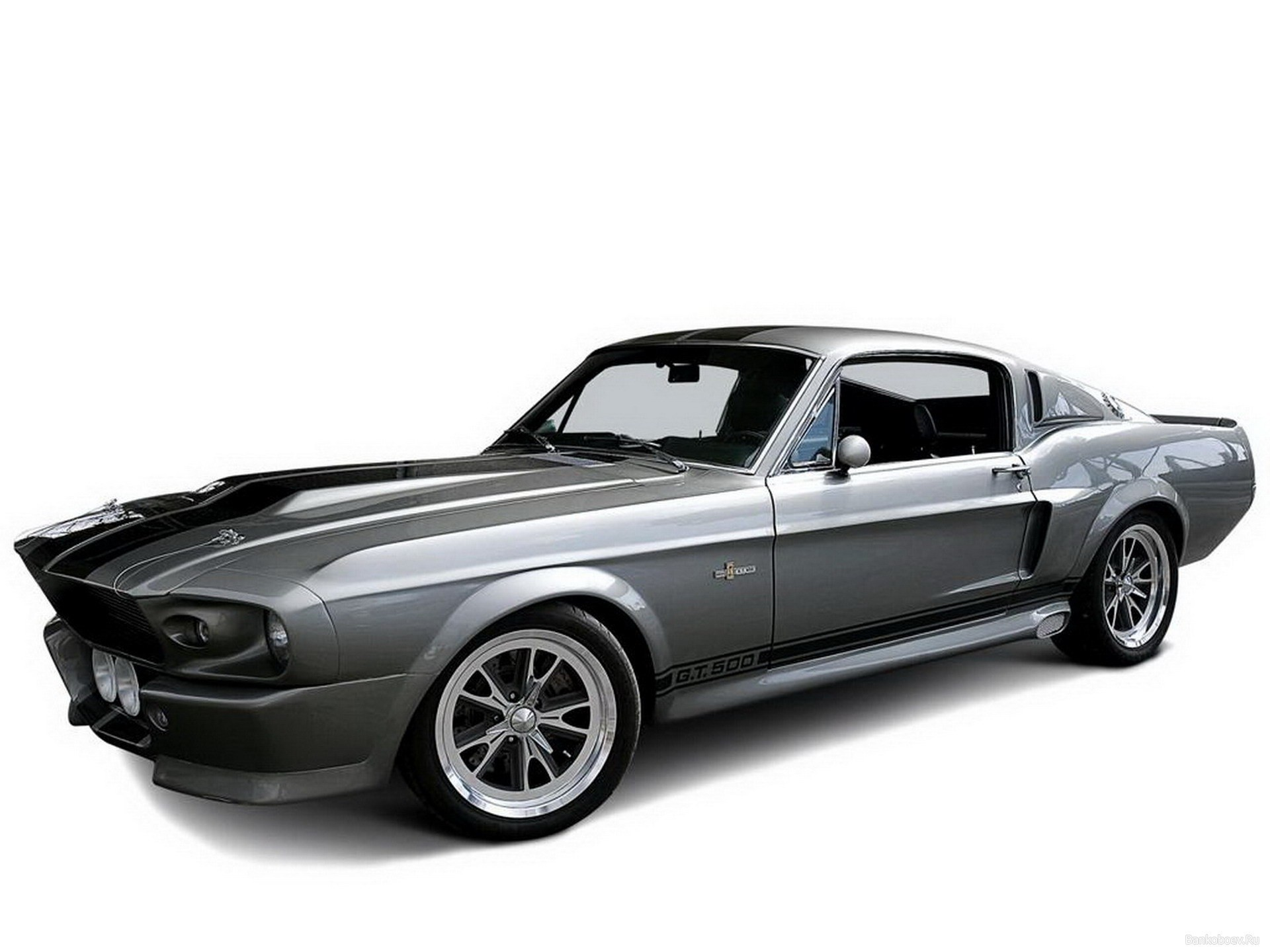 1967 Shelby Gt500 Wallpaper Black Ford Mustang