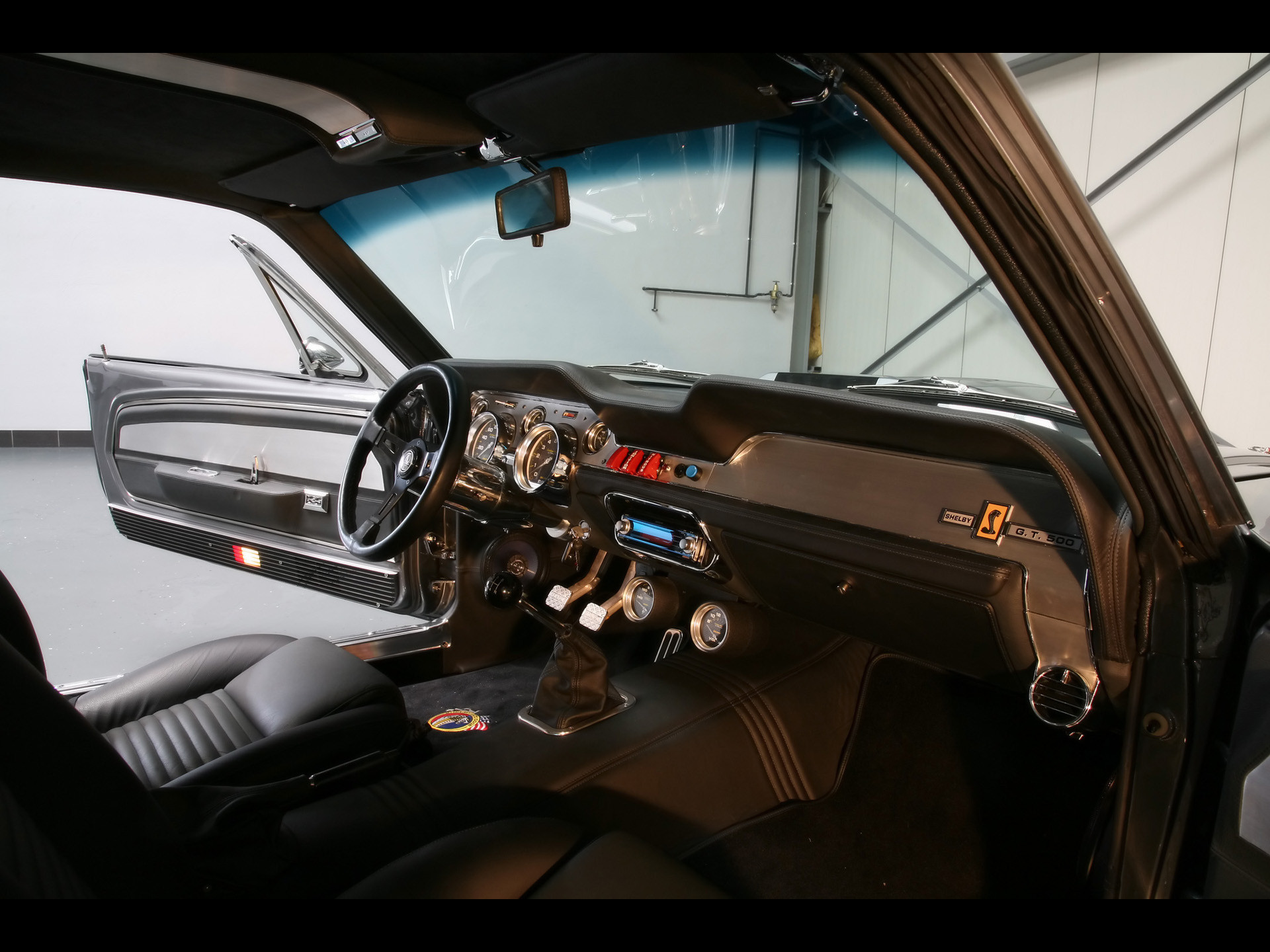 67 Shelby GT500 Eleanor | 2009 Wheelsandmore Mustang Shelby GT500 Eleanor –  Interior 2 .