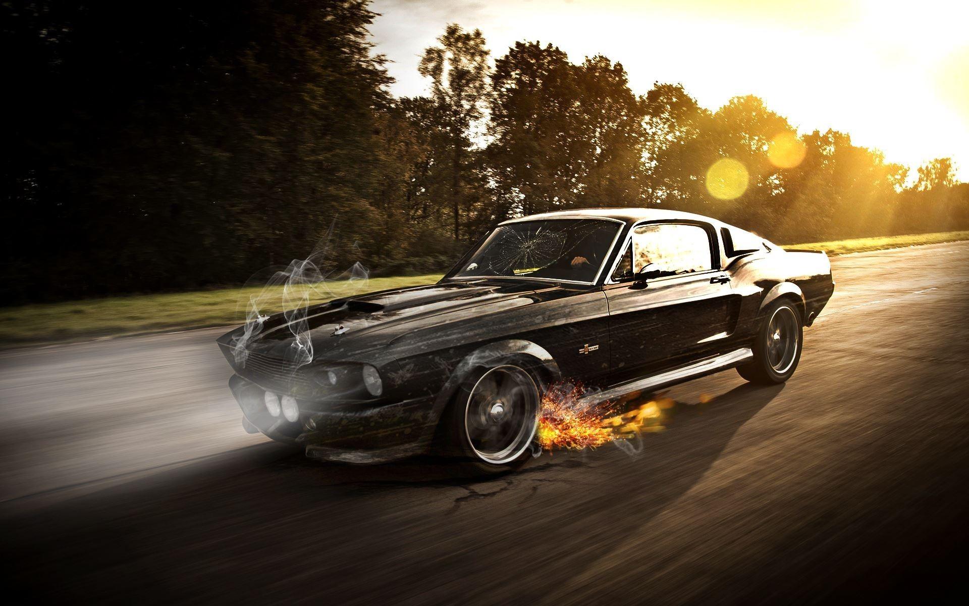 Car Ford Mustang Muscle Cars Eleanor Car Wallpaper Hd
