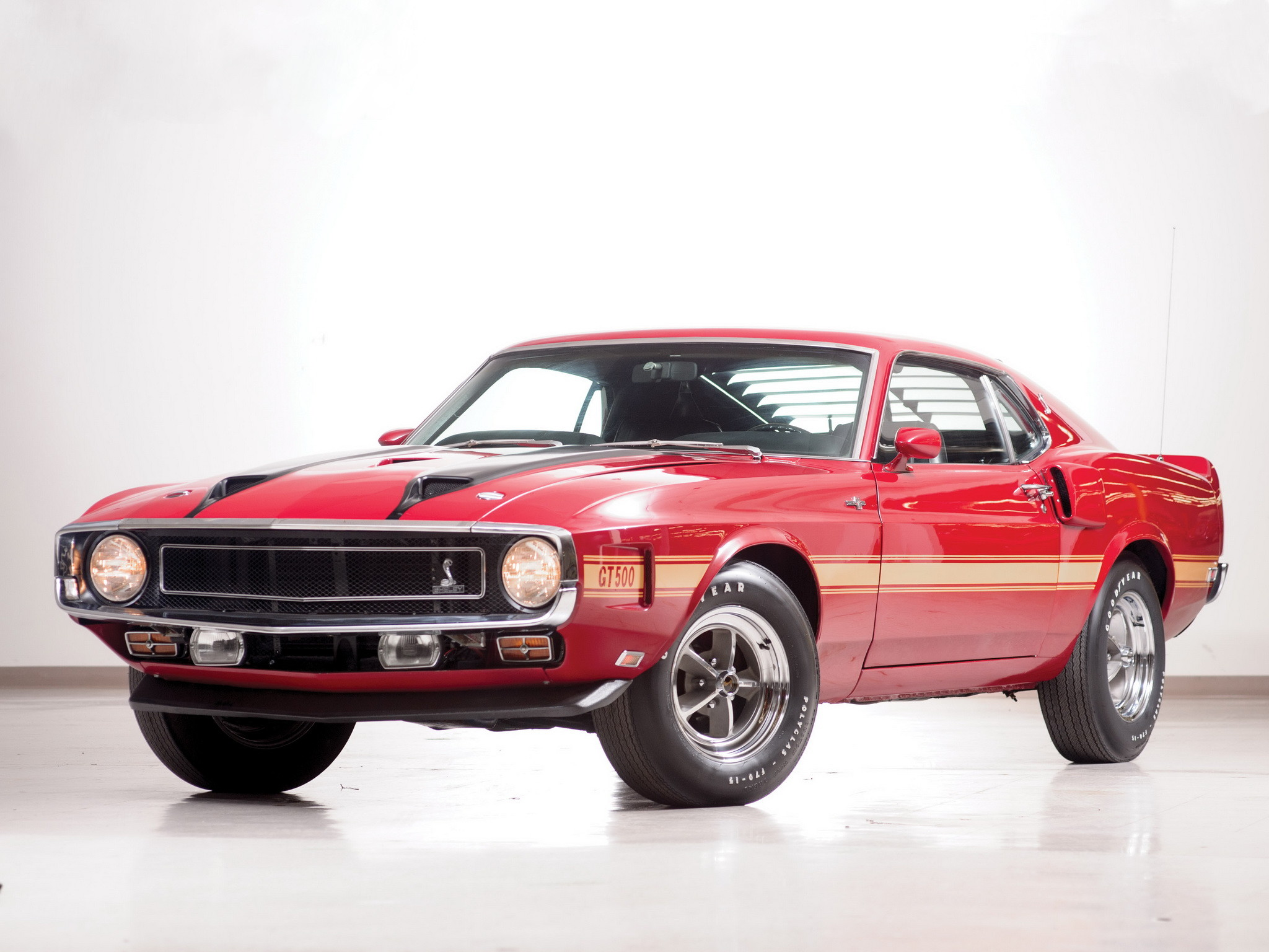 1969 Shelby GT500 ford mustang classic muscle b wallpaper .