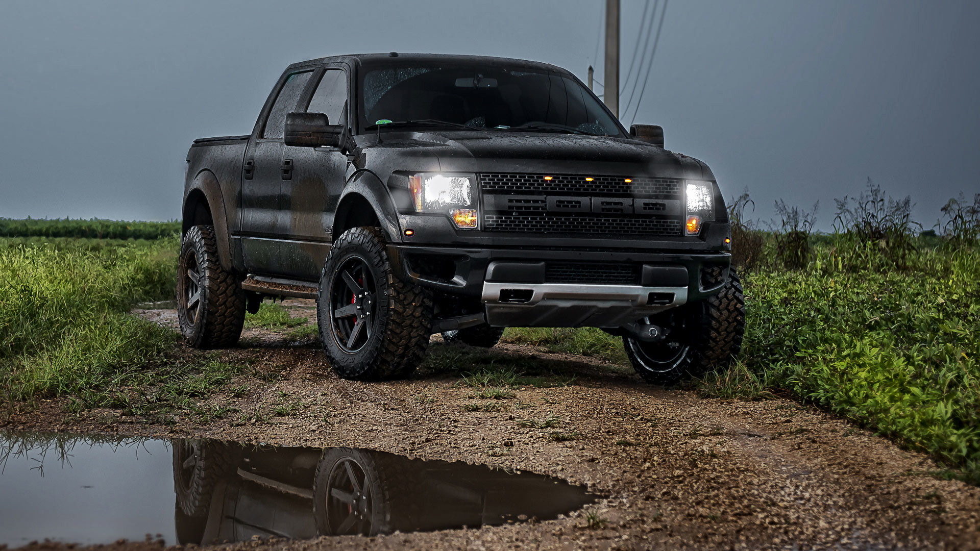 … Wallpapers hd Ford F-150 SVT Raptor Backgrounds