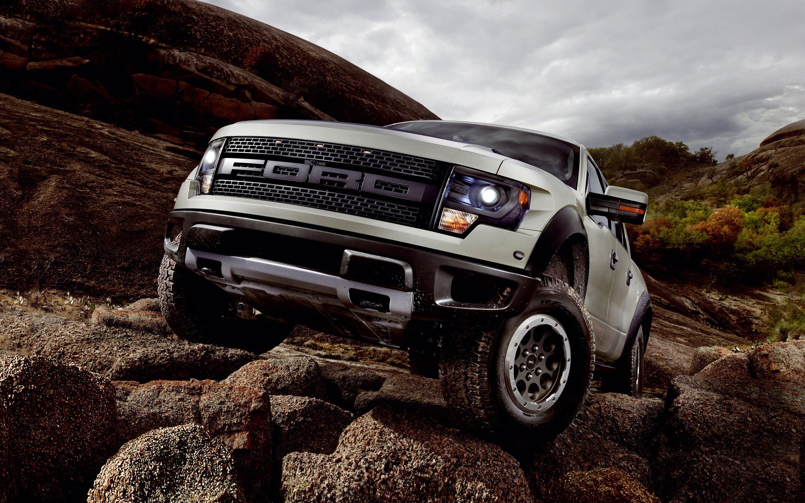 Ford F 150 SVT Raptor 3d wallpapers desktop