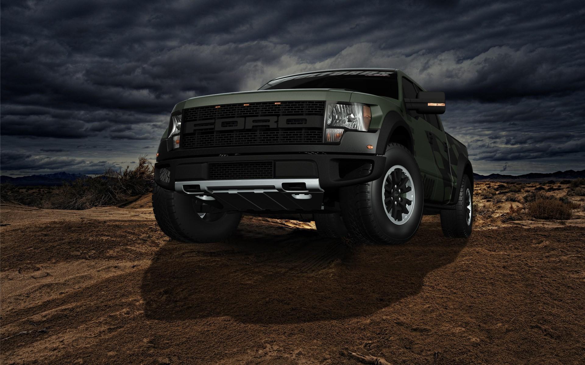 custom ford f150 raptor wallpaper hd