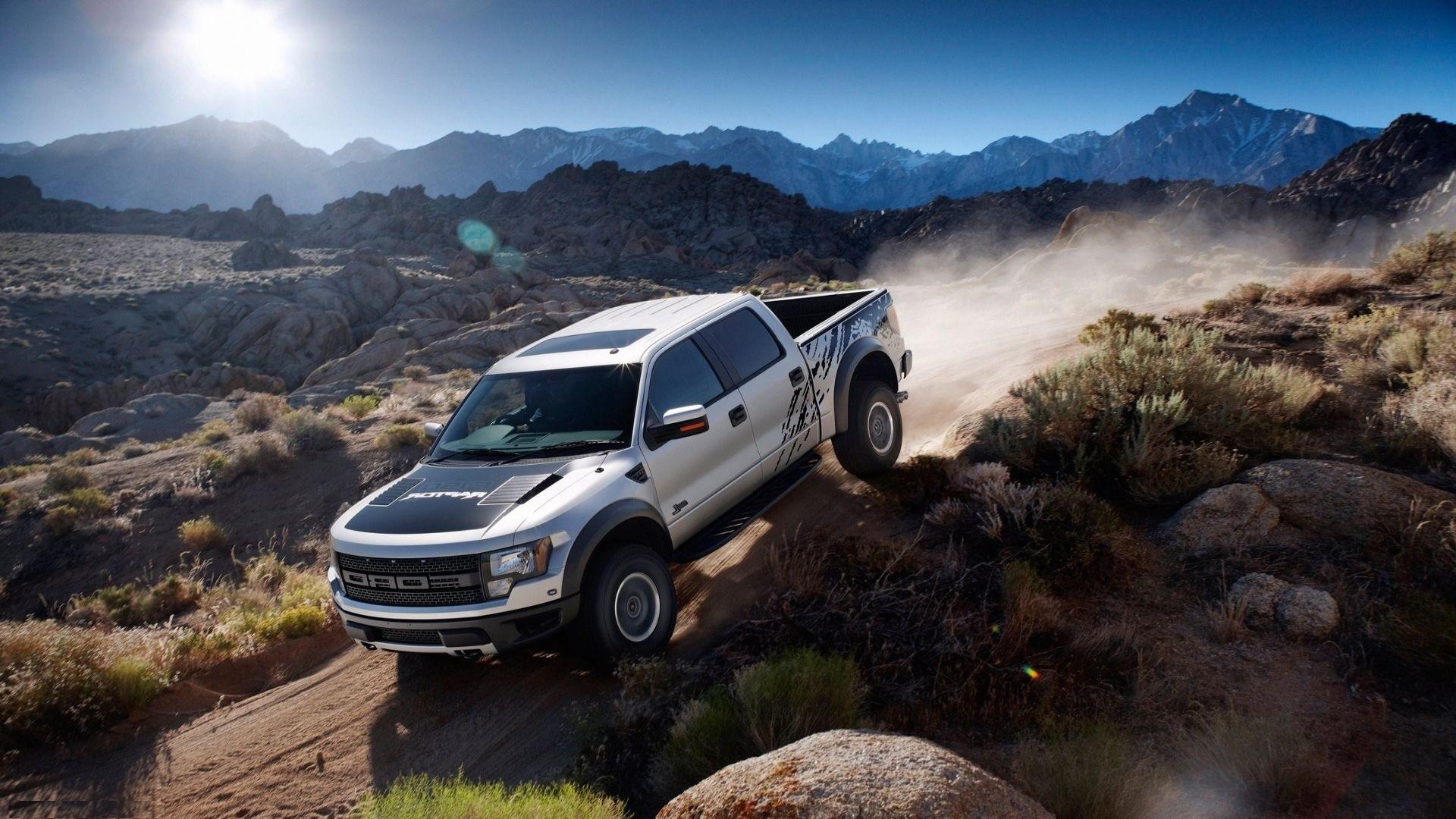 Black Ford Raptor Wallpapers 1080p