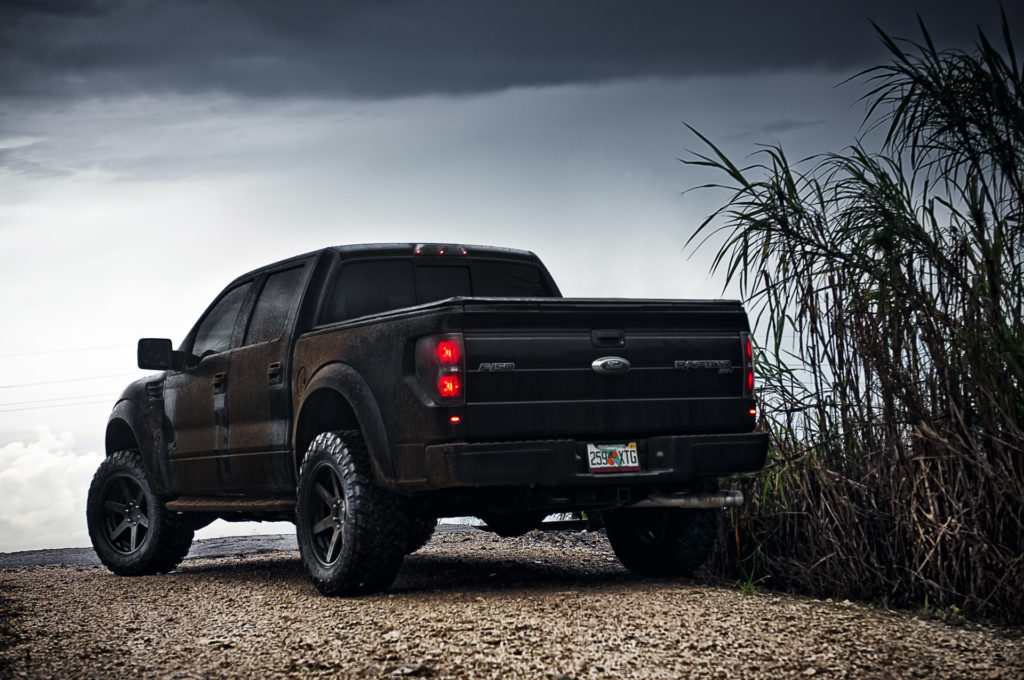 Black Ford Raptor Wallpapers HD Resolution