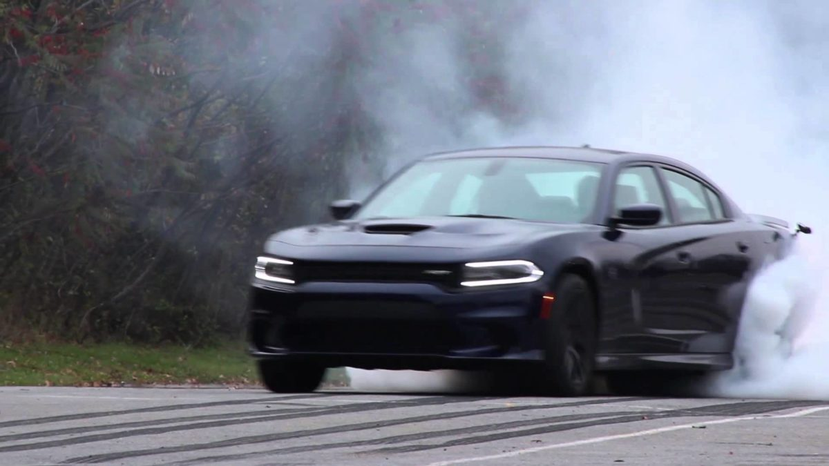 Dodge Charger Hellcat Burnout