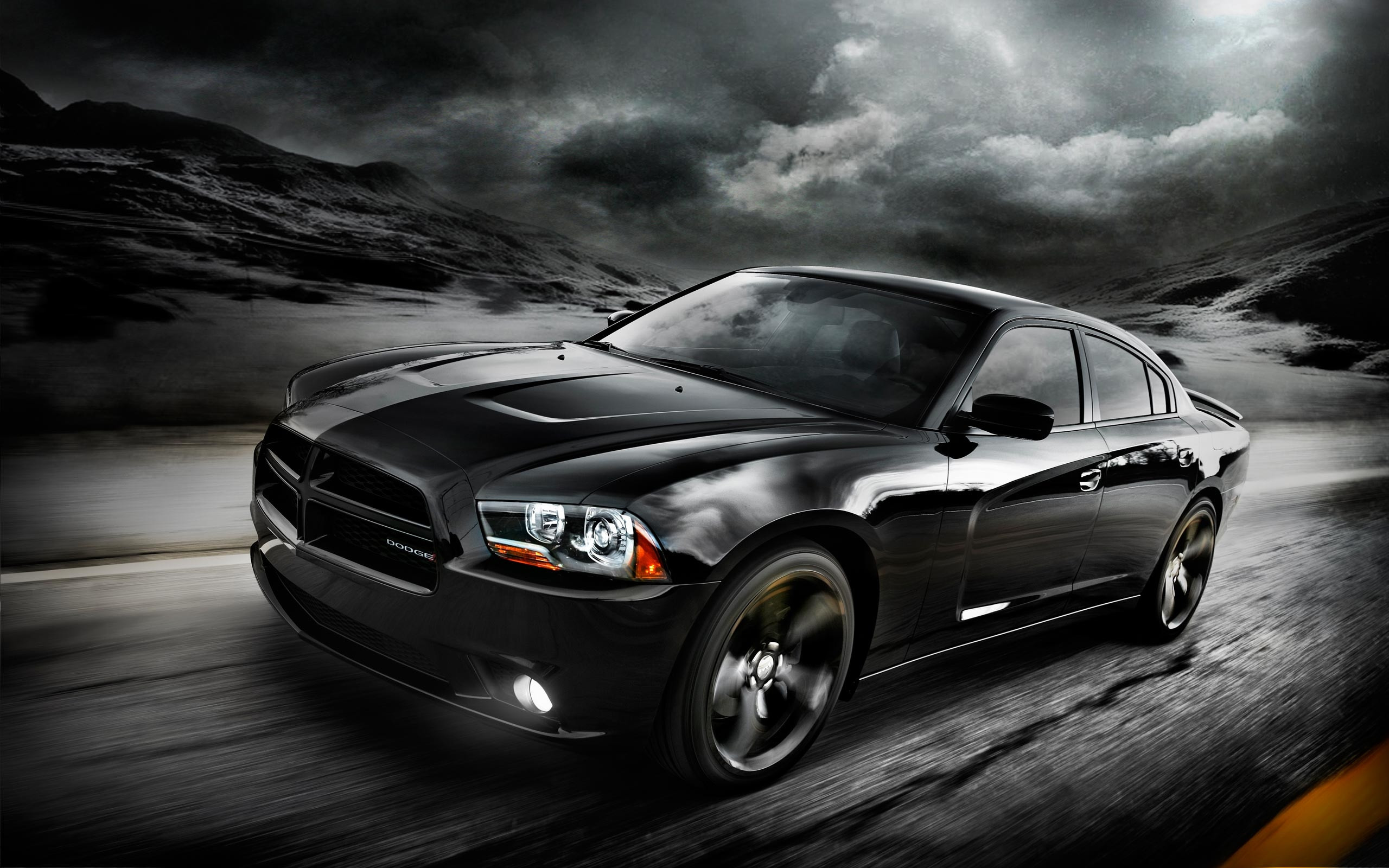 65 Dodge Challenger Black Hellcat