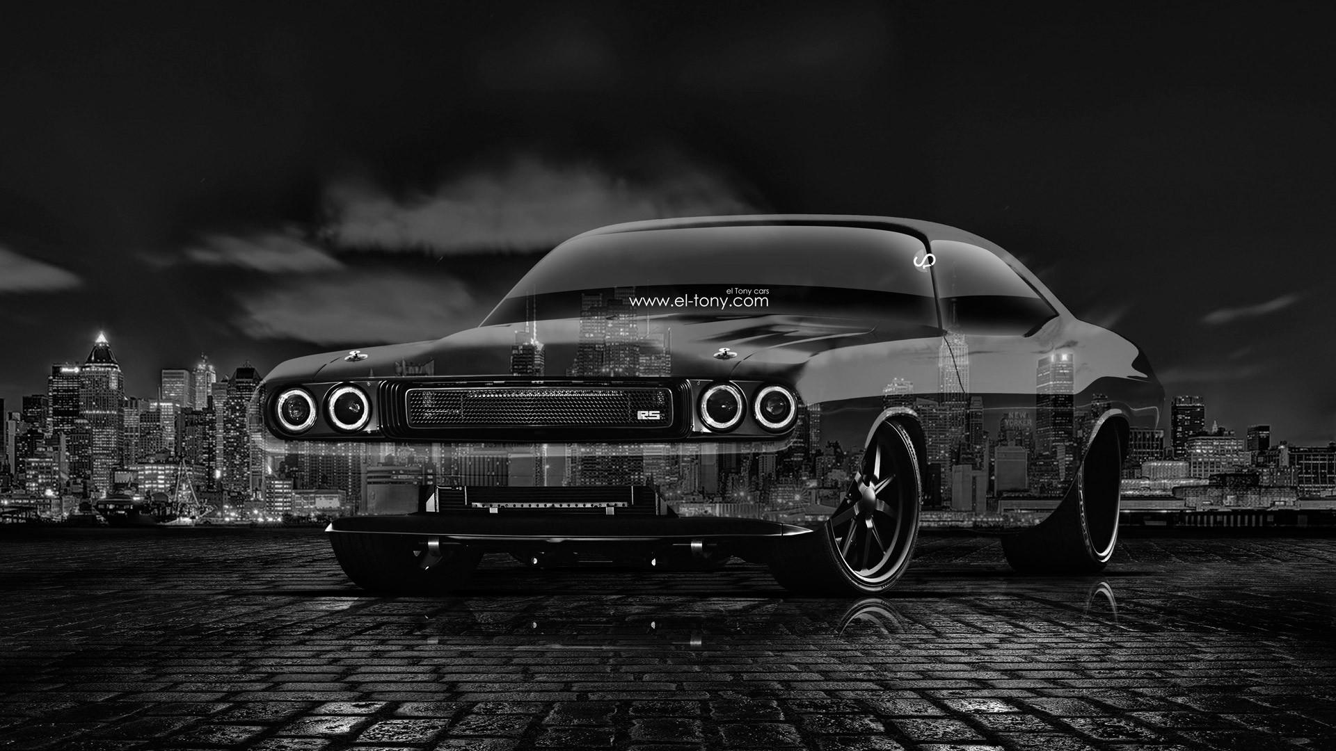 Image Black Dodge Challenger
