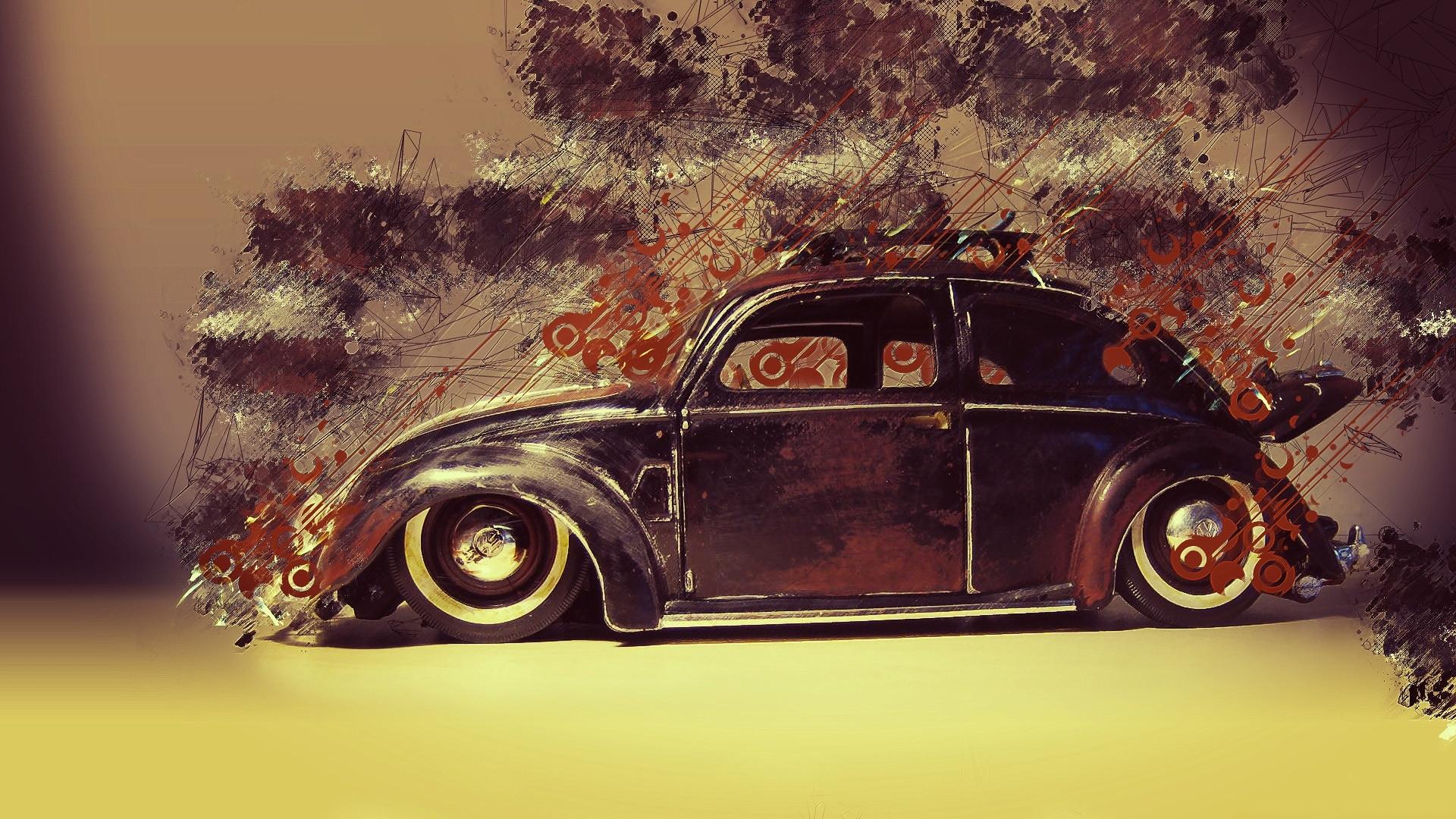 Cool VW Beetle Classic Wallpaper Wallpaper