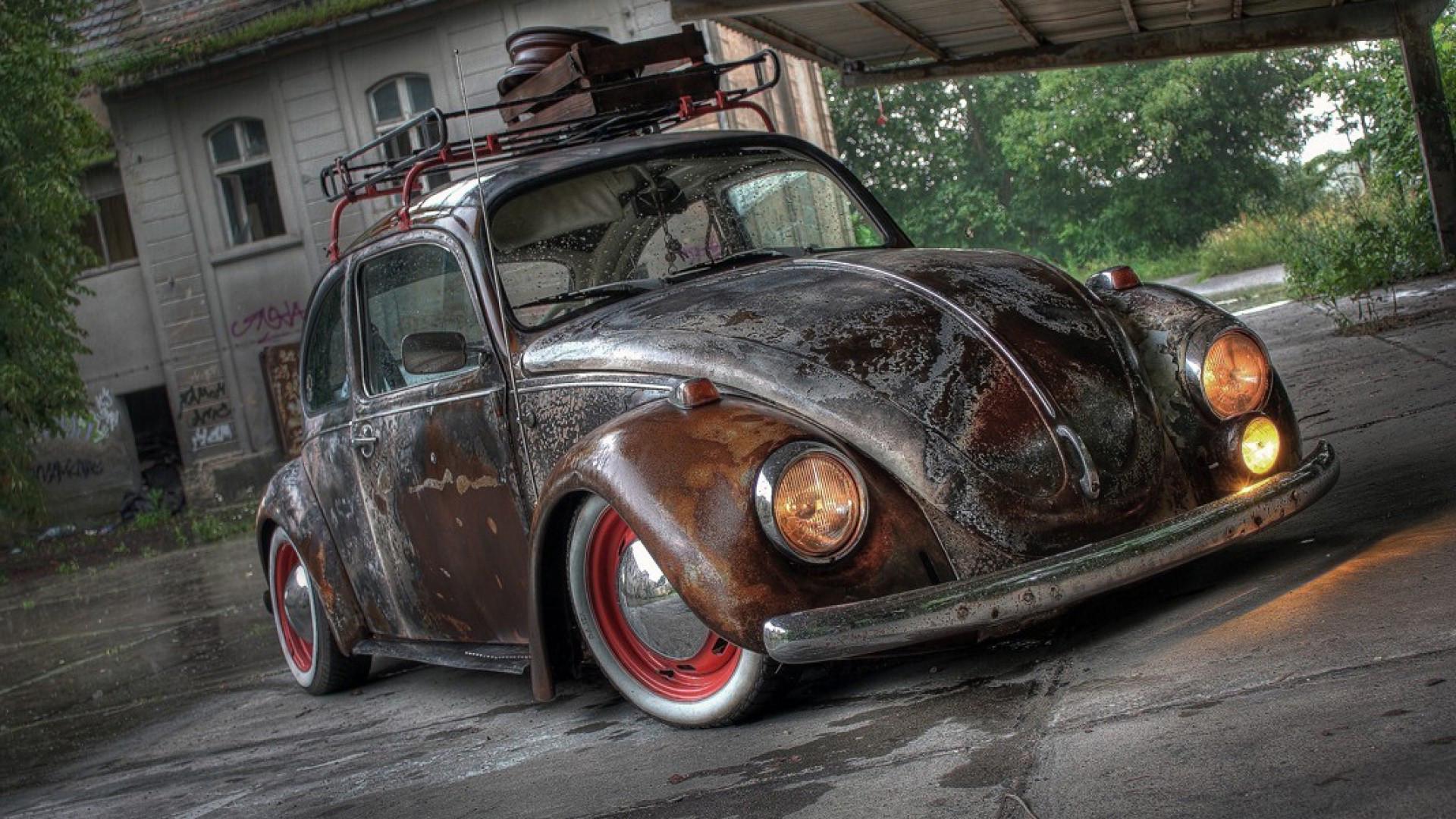 Rusted Volkswagen Beetle Wallpapers