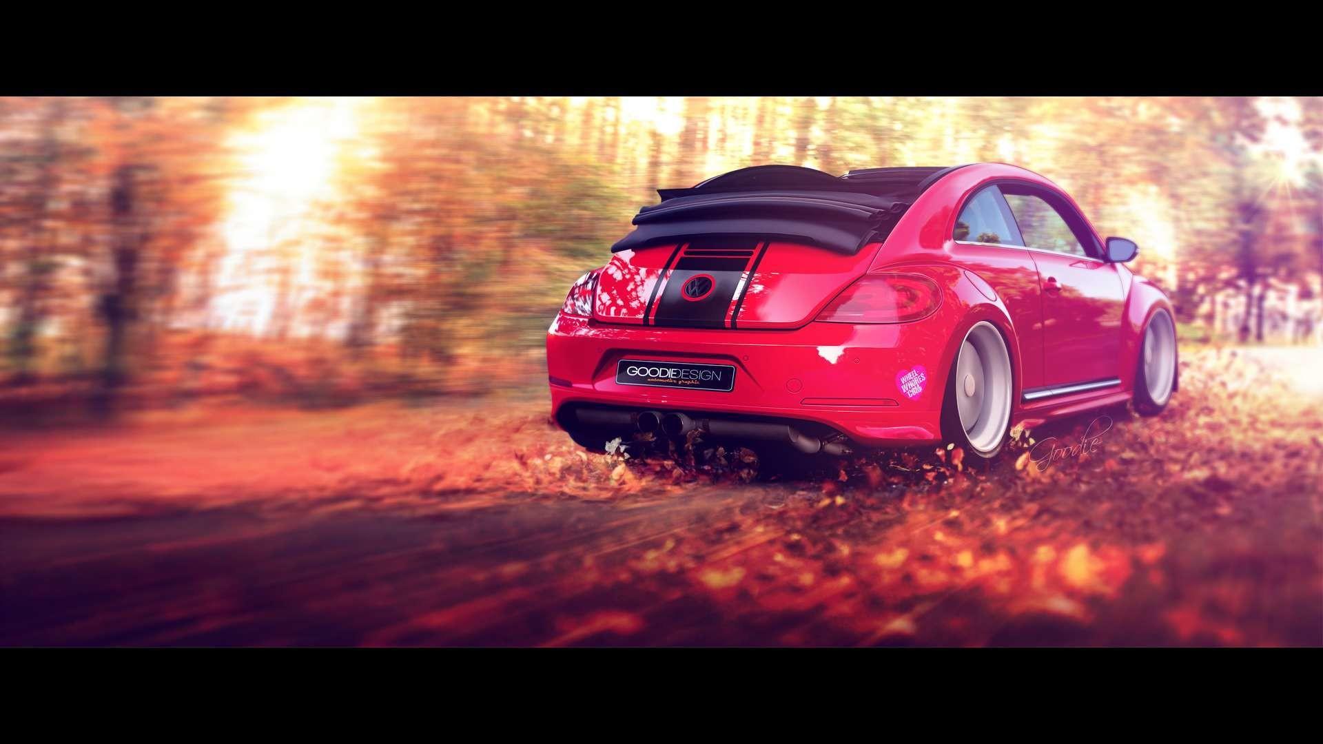 Volkswagen Beetle Convertible HD Wallpaper. « »