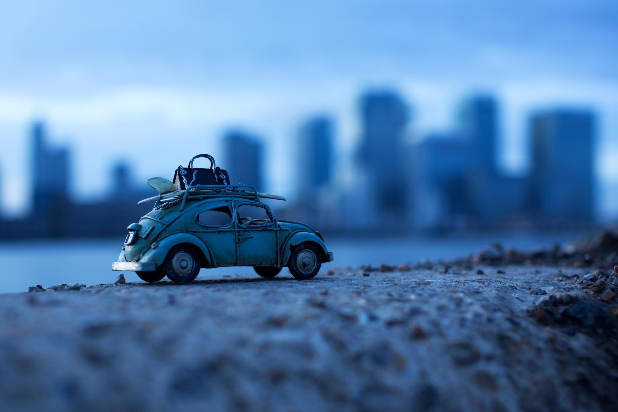 toys, Macro, Car, Depth Of Field, Volkswagen Beetle Wallpapers HD / Desktop  and Mobile Backgrounds