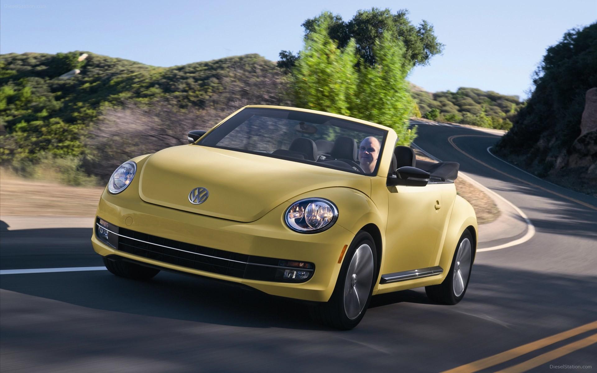 Volkswagen Beetle 2014 HD Dekstop Wallpaper