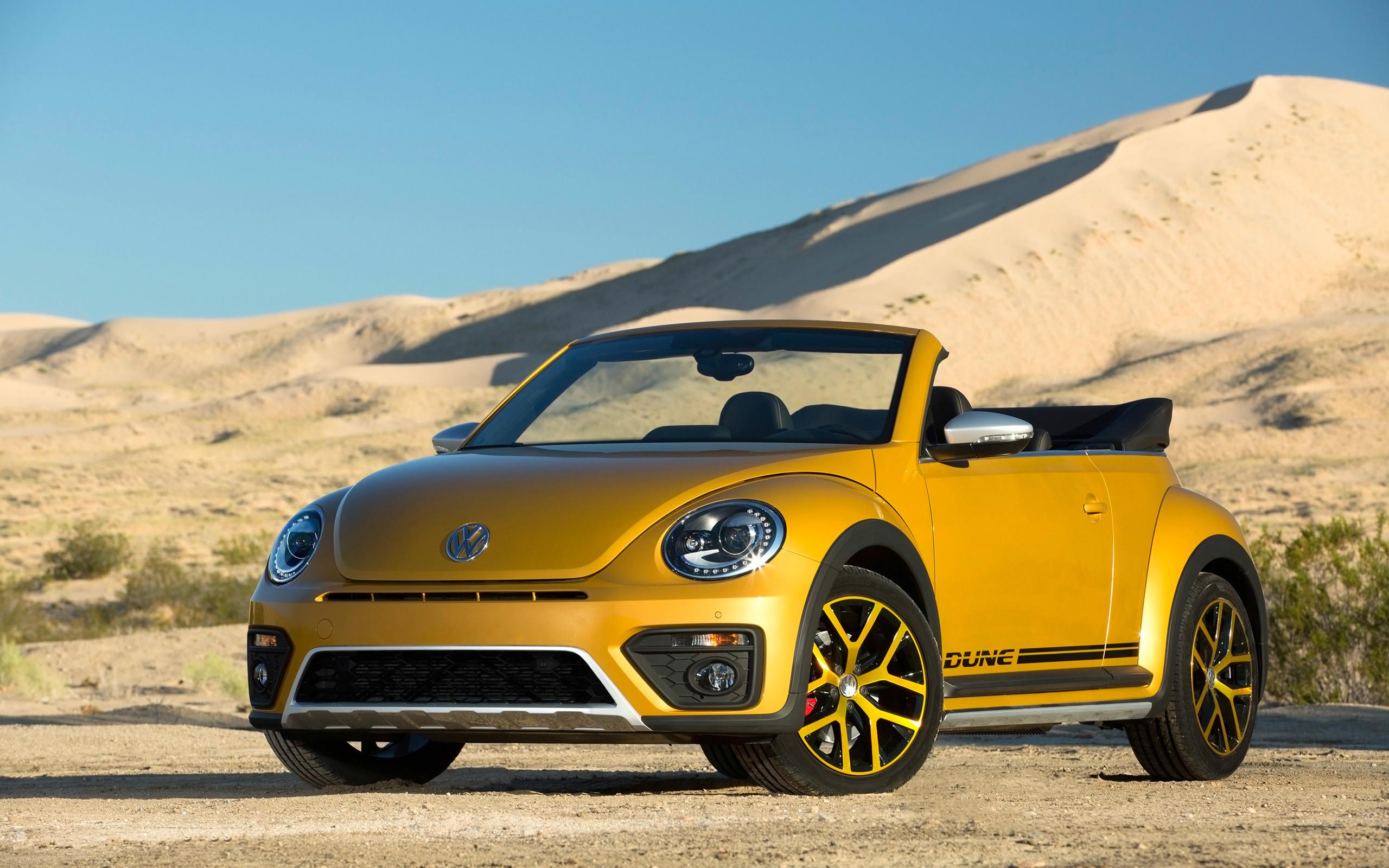 2016 Volkswagen Beetle Dune Convertible