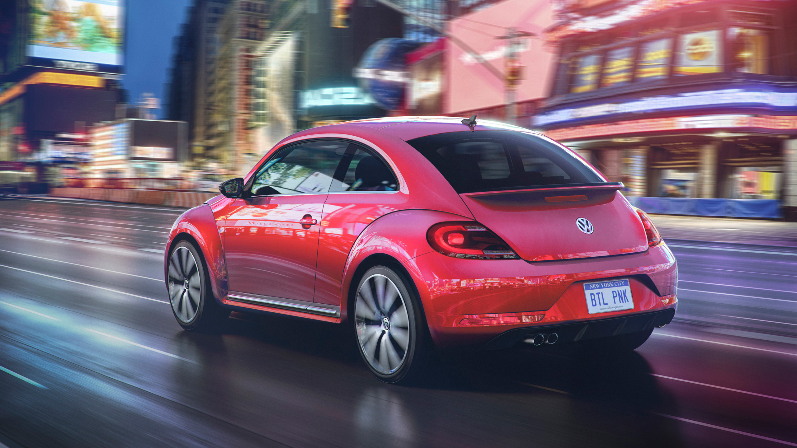 2017 Volkswagen Pink Beetle Limited Edition 2