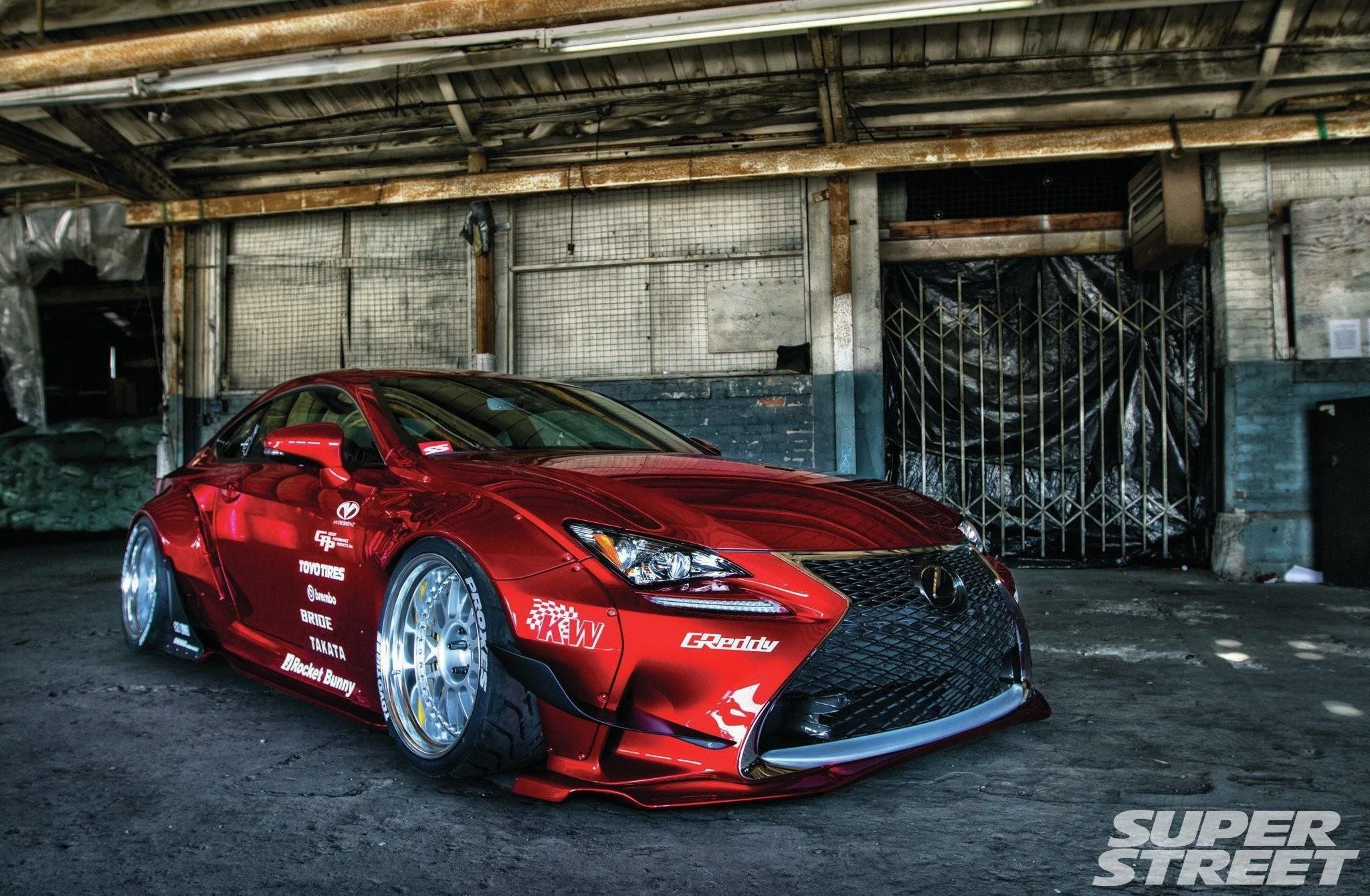 Rocket Bunny 2015 Lexus RC-F Sport tuning bodykit wallpaper      658678   WallpaperUP