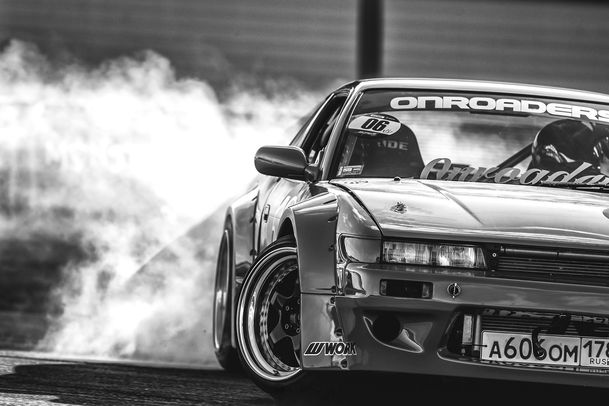 General Nissan Silvia S13 Silvia S13 Nissan Silvia S13 Nissan S13 Rocket  Bunny drift Drifting
