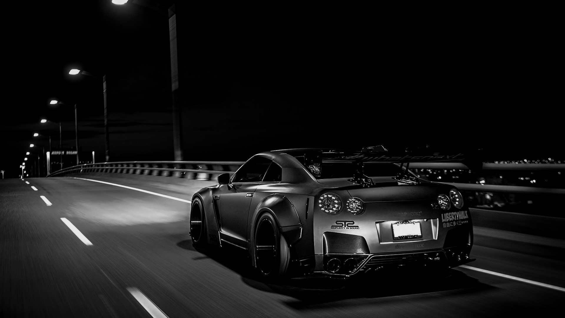 tuning, Nissan Skyline GT R R35, Liberty Walk, Nissan GTR Wallpapers HD /  Desktop and Mobile Backgrounds