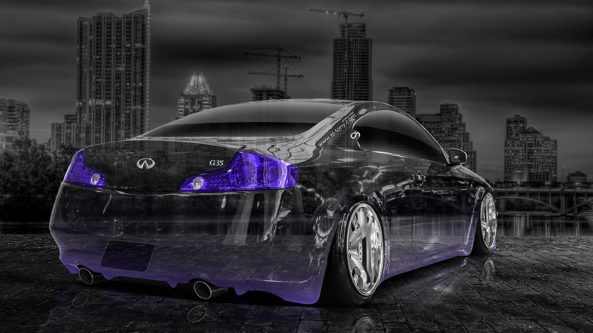 Infiniti-G35-Crystal-City-Car-2014-Violet-Neon-