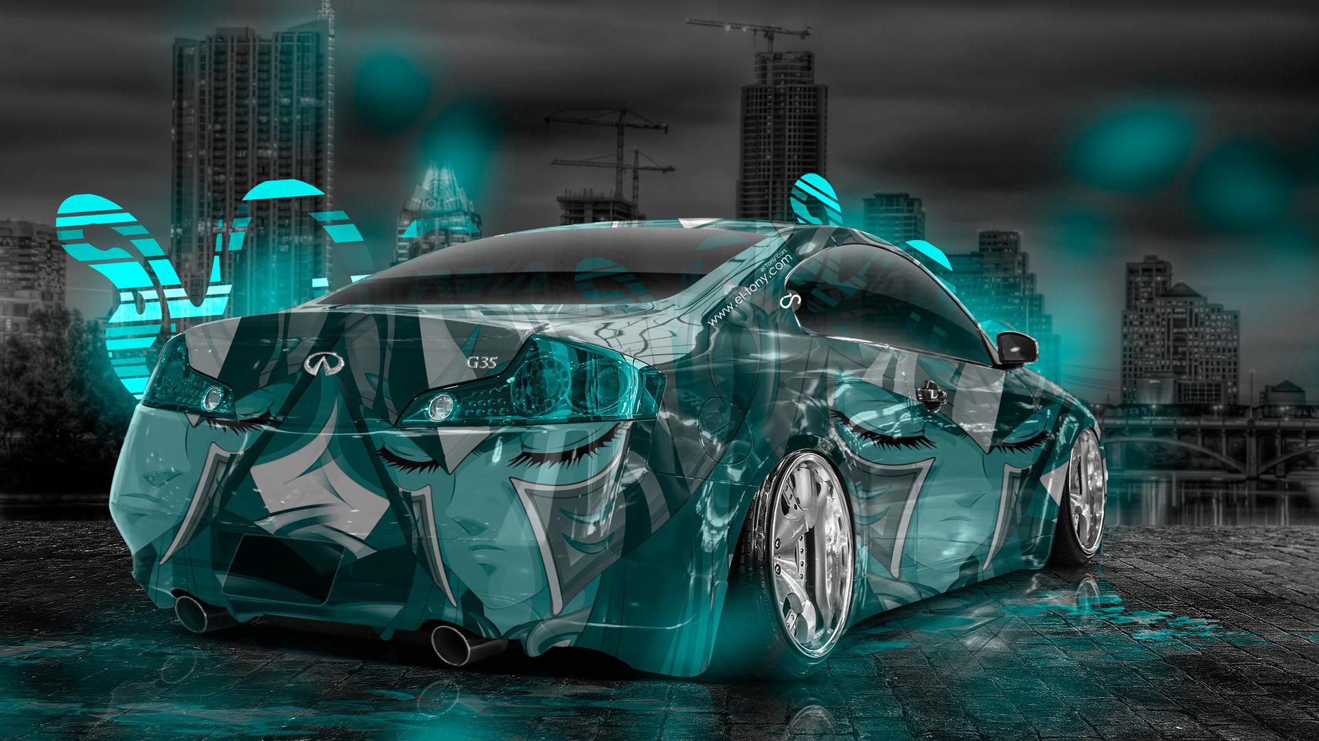 Infiniti-G35-Anime-Aerography-City-Car-2014-Azure-