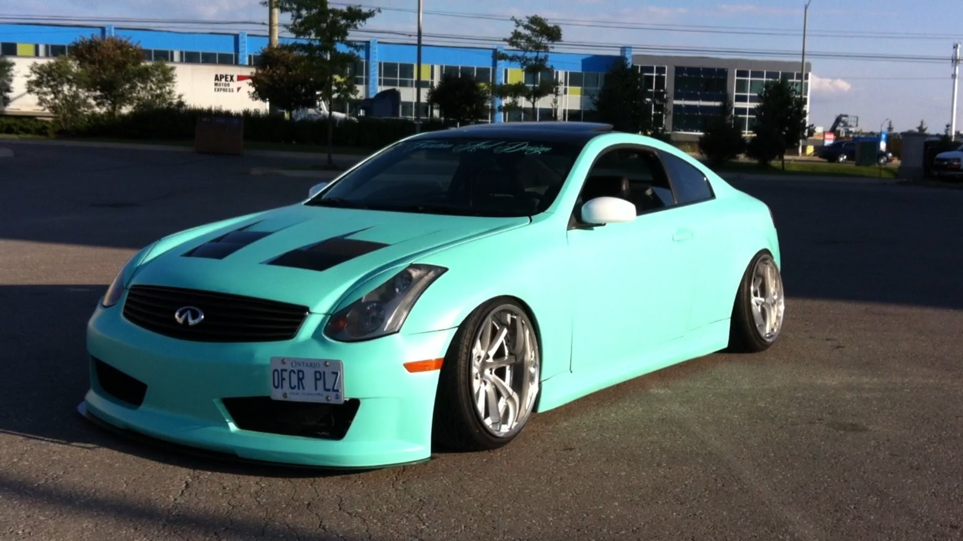 INSANE G35 Coupe Fully Modded Exhaust YouTube