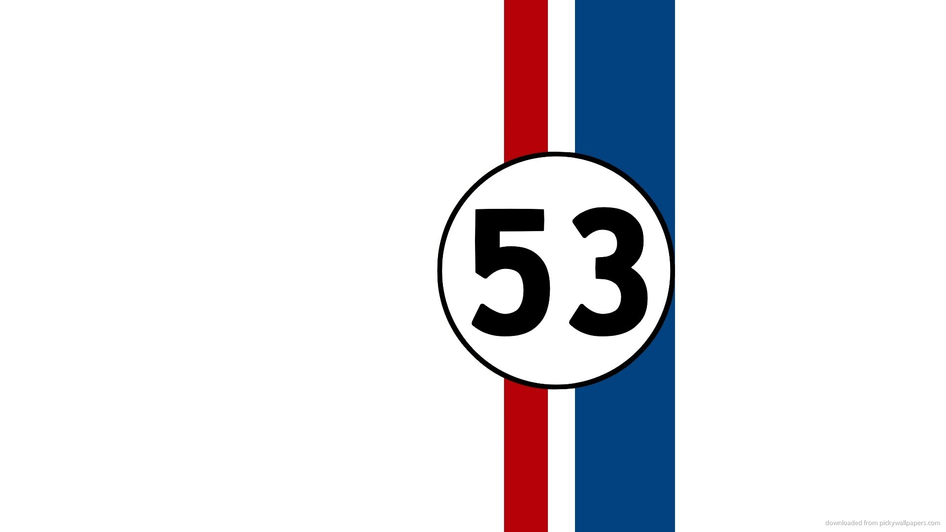 HD Herbie 53 wallpaper