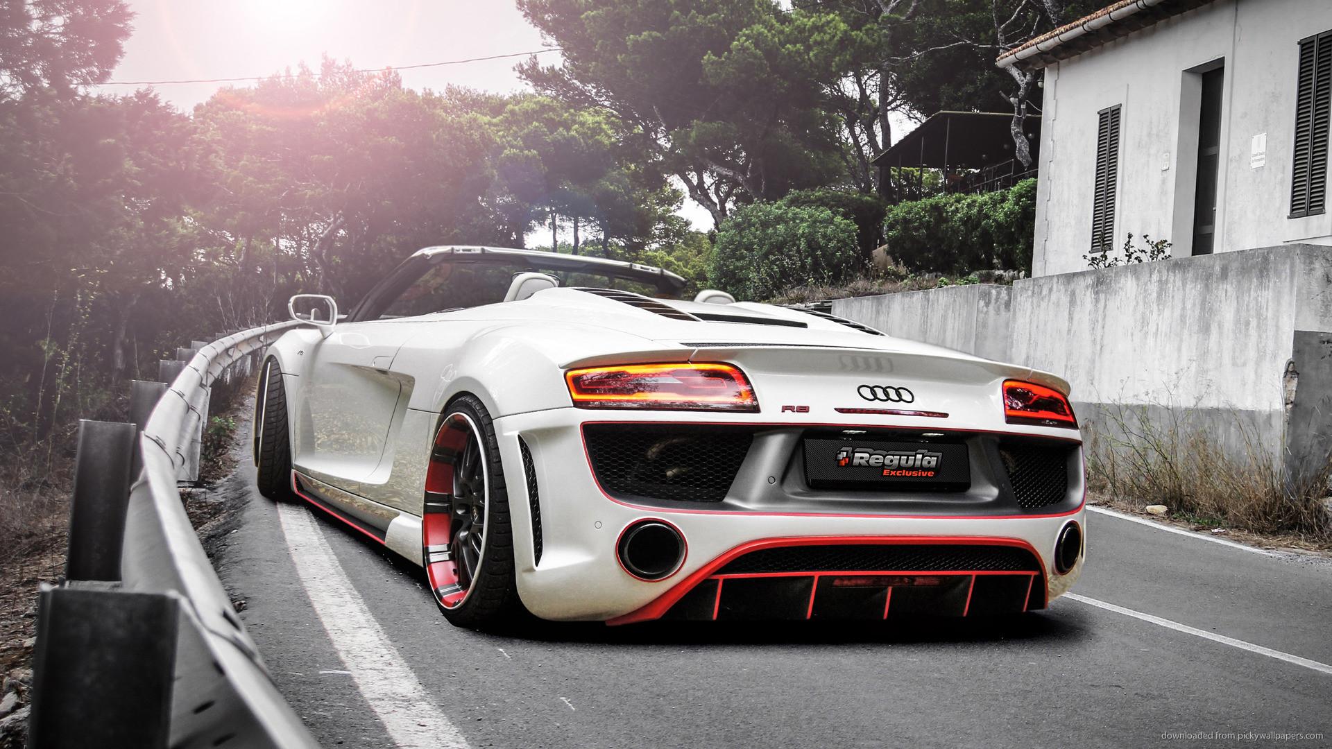 … Download Audi R8 V10 Spyder Regula Tuning Wallpaper