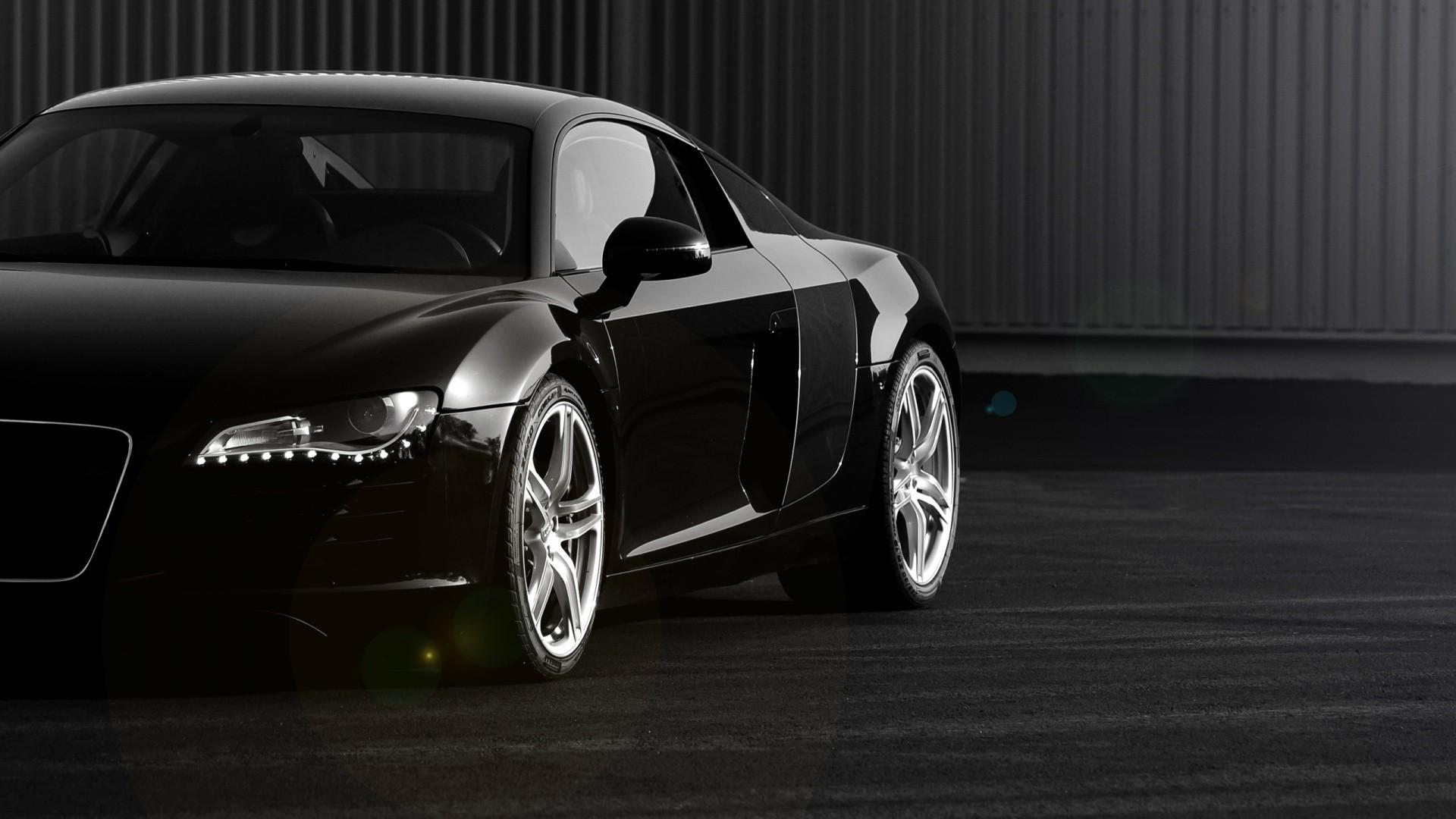 Black Audi R8 Section