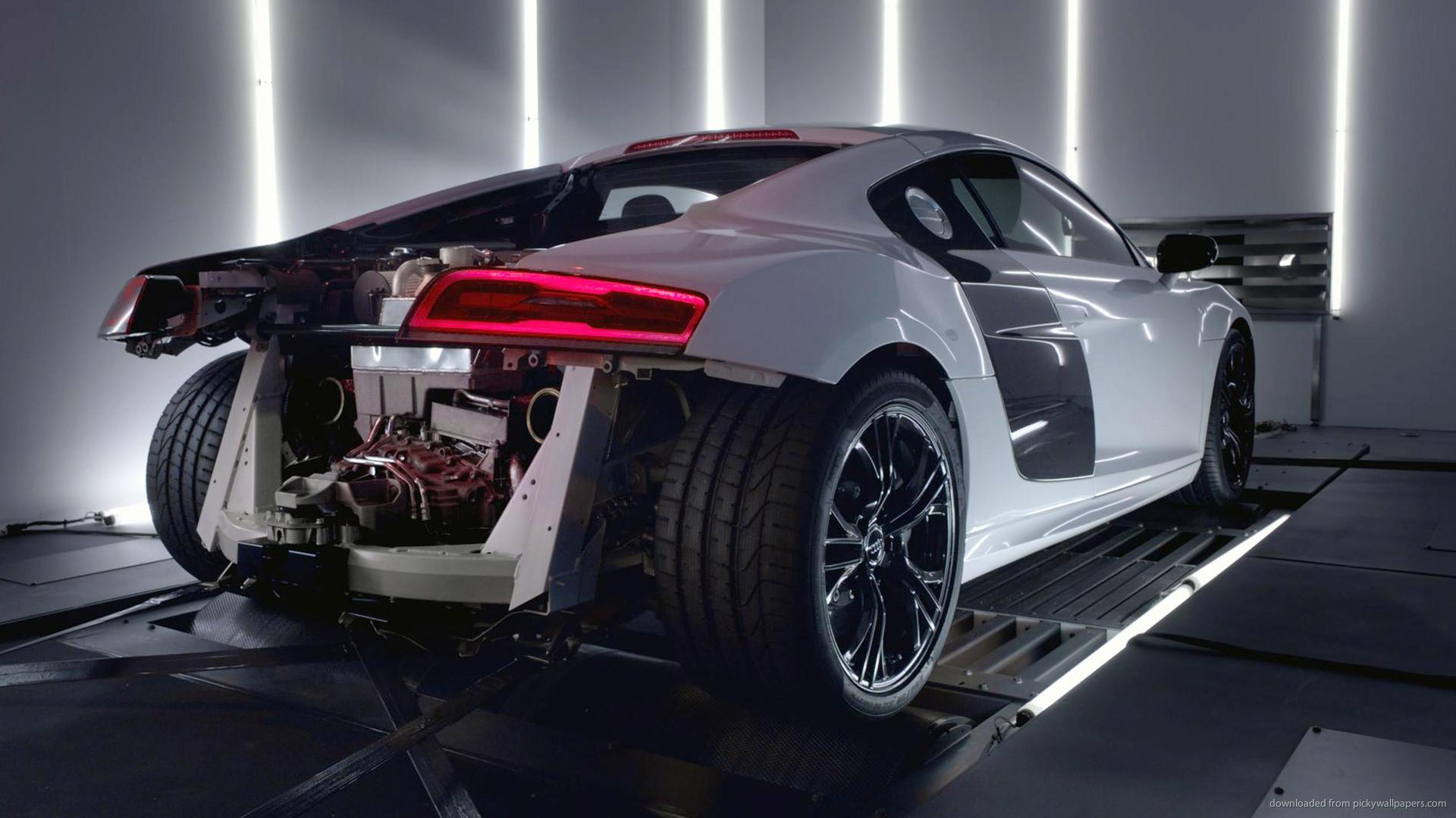 Audi R8 V10 Plus Supercar for 1920×1080
