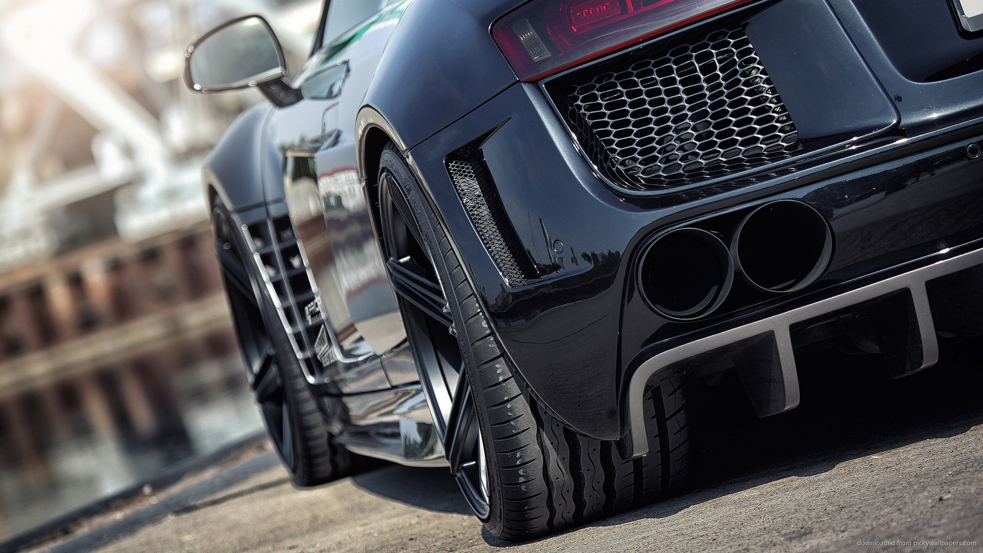 Prior-Design Audi R8 PD GT850 Exhaust for 1920×1080