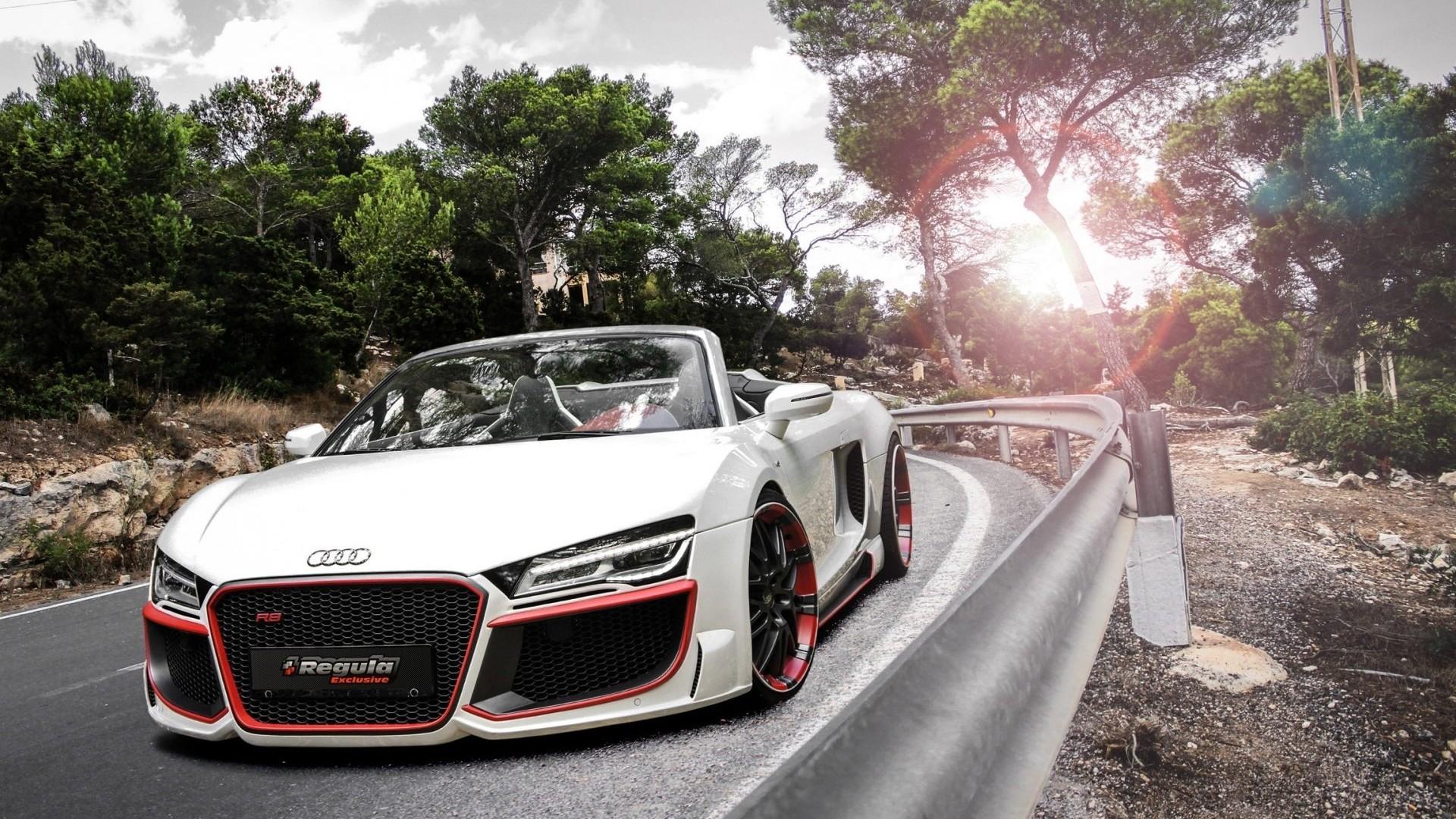 R8 Spyder Audi Car Wallpaper