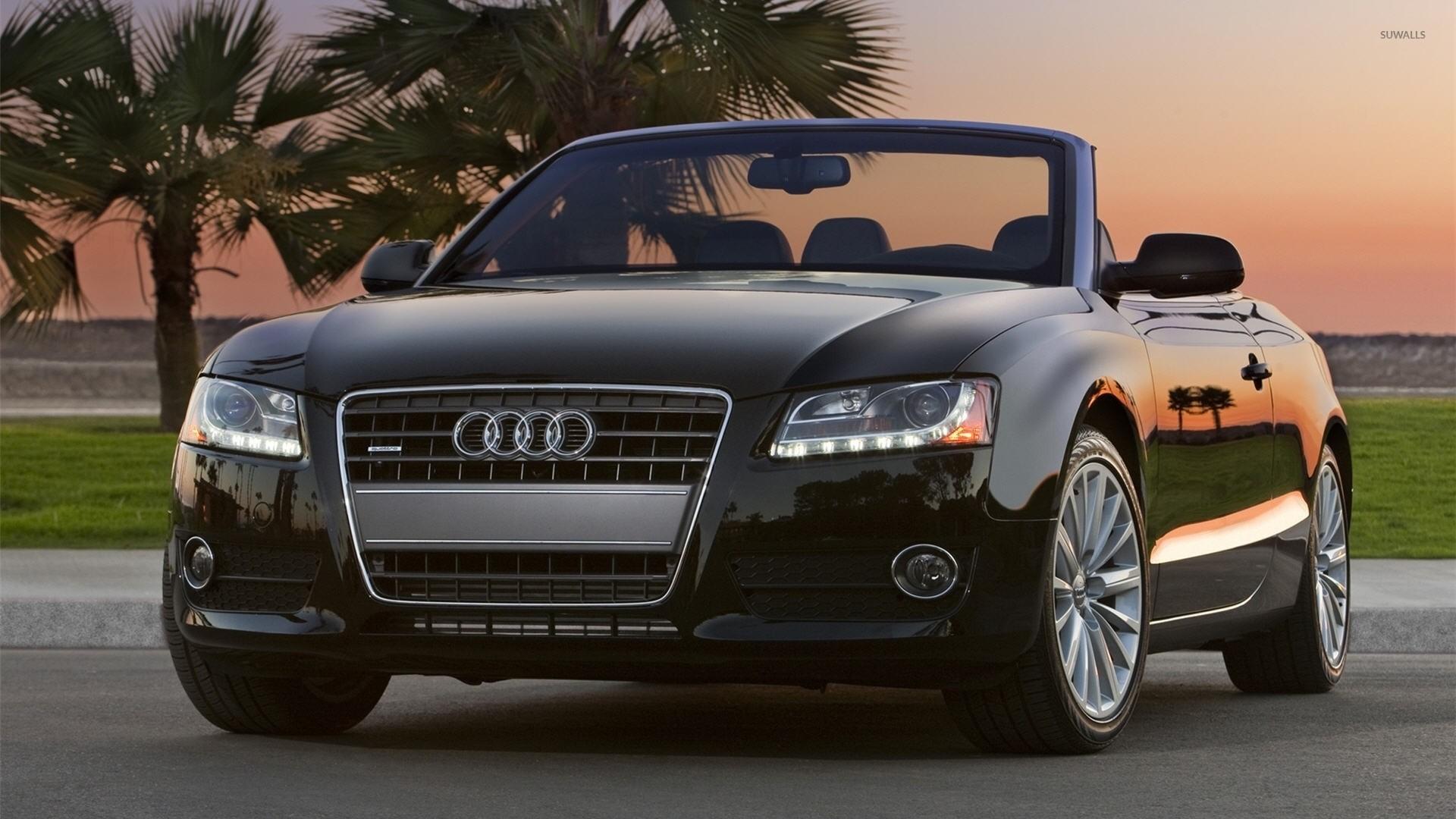 Audi A5 quattro convertible front view wallpaper jpg