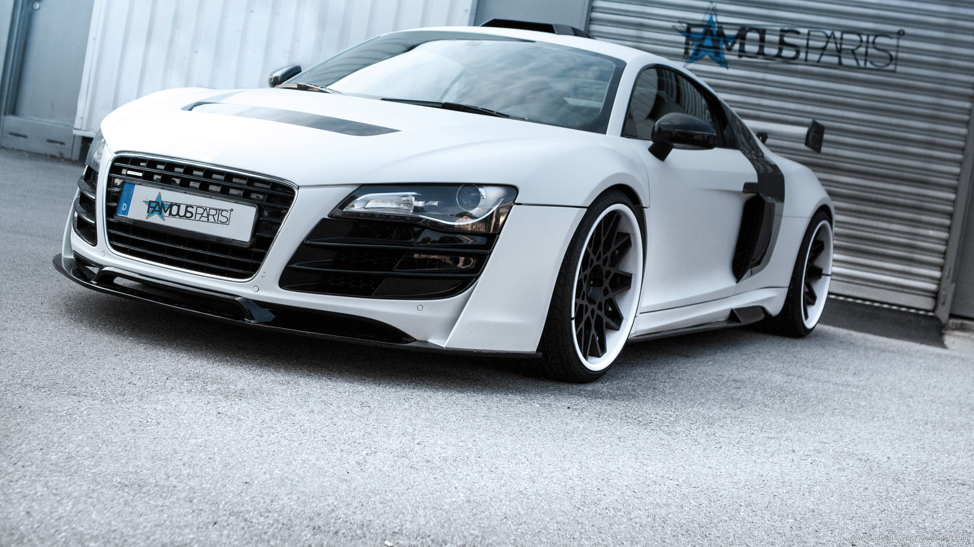 Famous Parts Audi R8 Wide Body PD GT-850 for 1920×1080