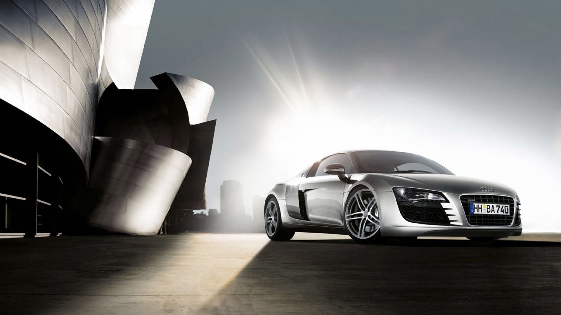 Audi R8 Front Angle 4k HD Wallpaper