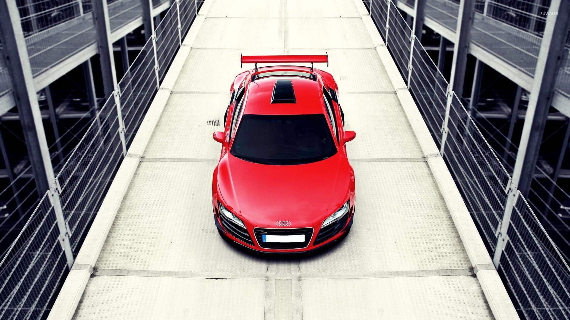 Audi R8 top view wallpaper jpg