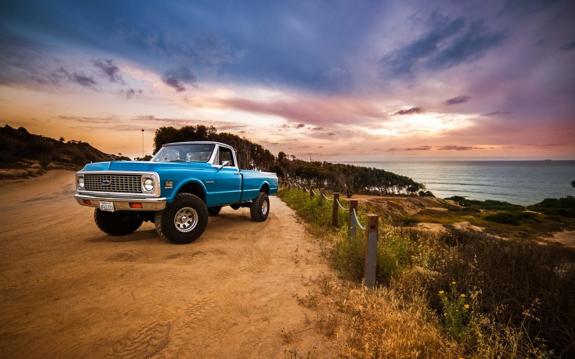 Old Chevy Truck Wallpaper