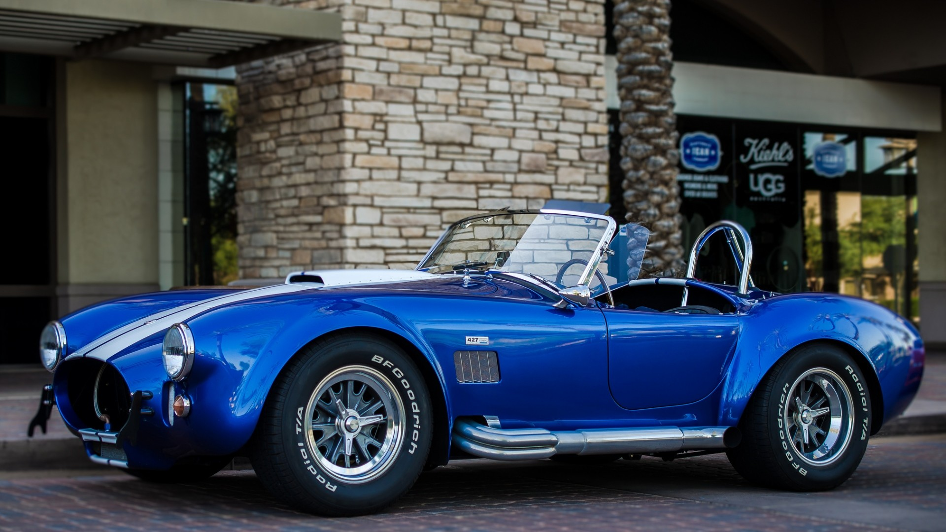 Preview wallpaper shelby, cobra, 427, side view, convertible 1920×1080