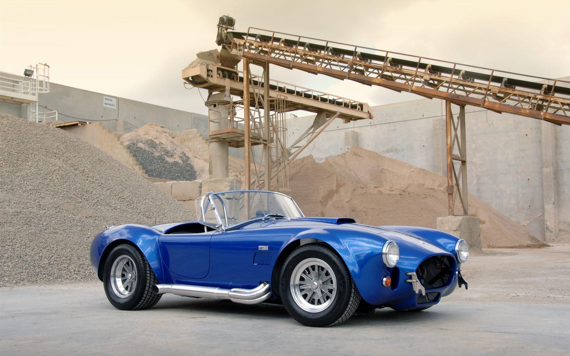 1963 Shelby Cobra CSX 4000 427 SC blue car Full HD wallpaper