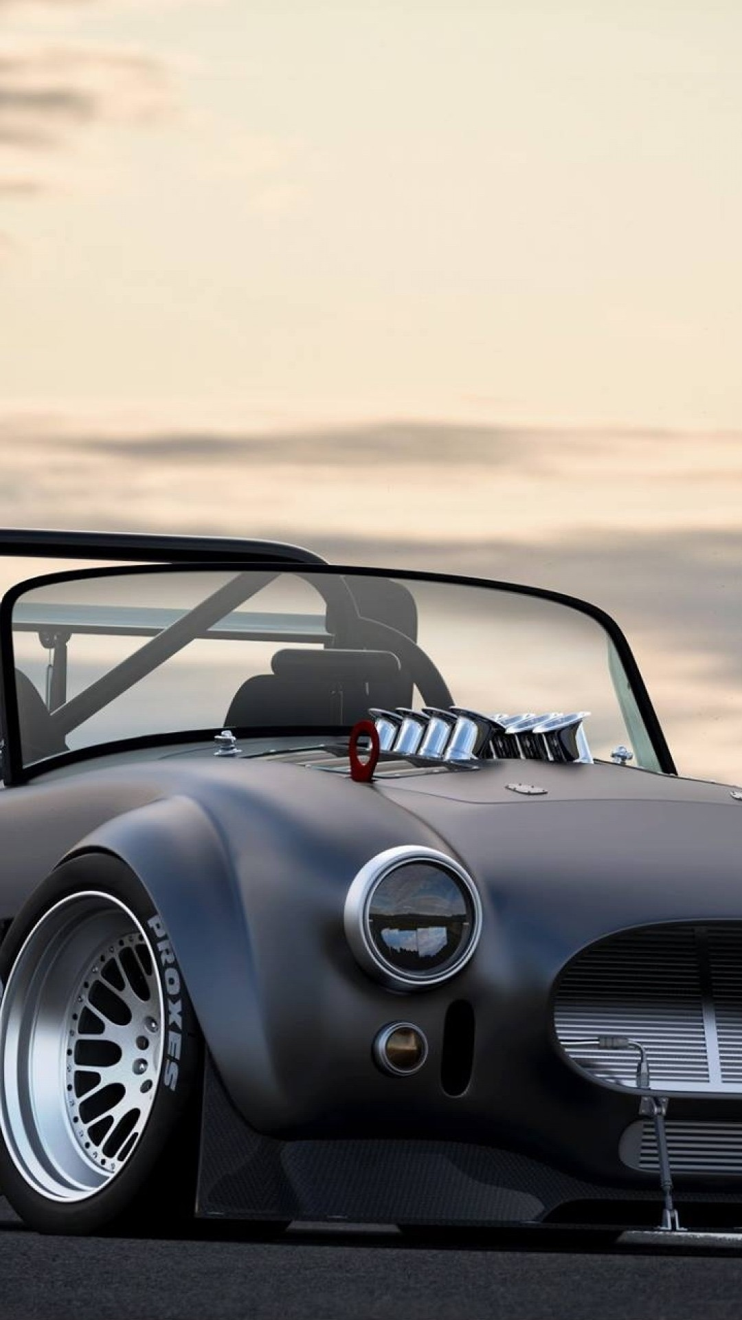 Wallpaper shelby, cobra, tuning, cars, wing