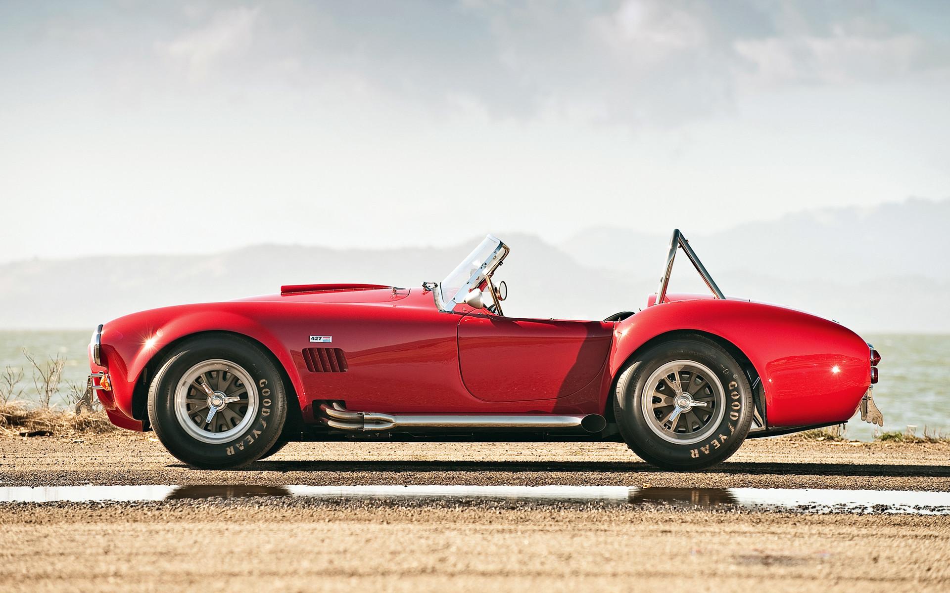 Red Shelby Cobra Wallpaper